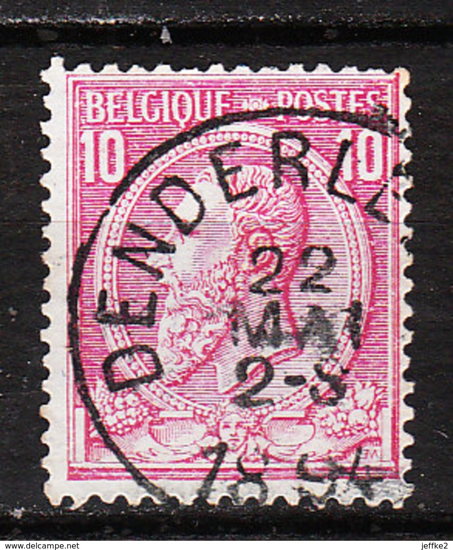 46  Oblitération Centrale DENDERLEEUW - LOOK!!!! - 1884-1891 Leopold II