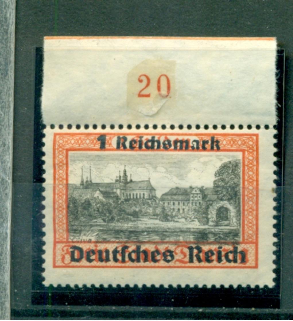 Deutsches Reich, Auf Danzigmarke, Nr. 728 Postfrisch ** - Ungebraucht