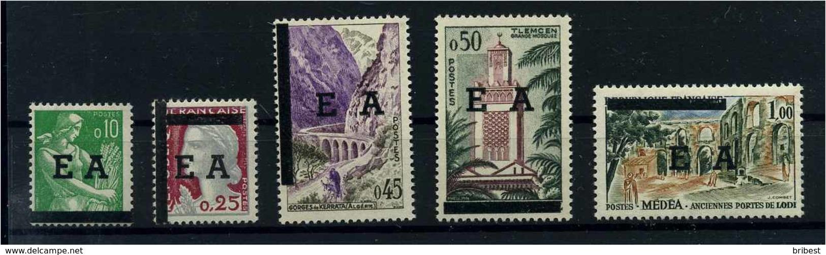 ALGERIEN 1962 Nr 383-387 Postfrisch (104500) - Algerien (1962-...)