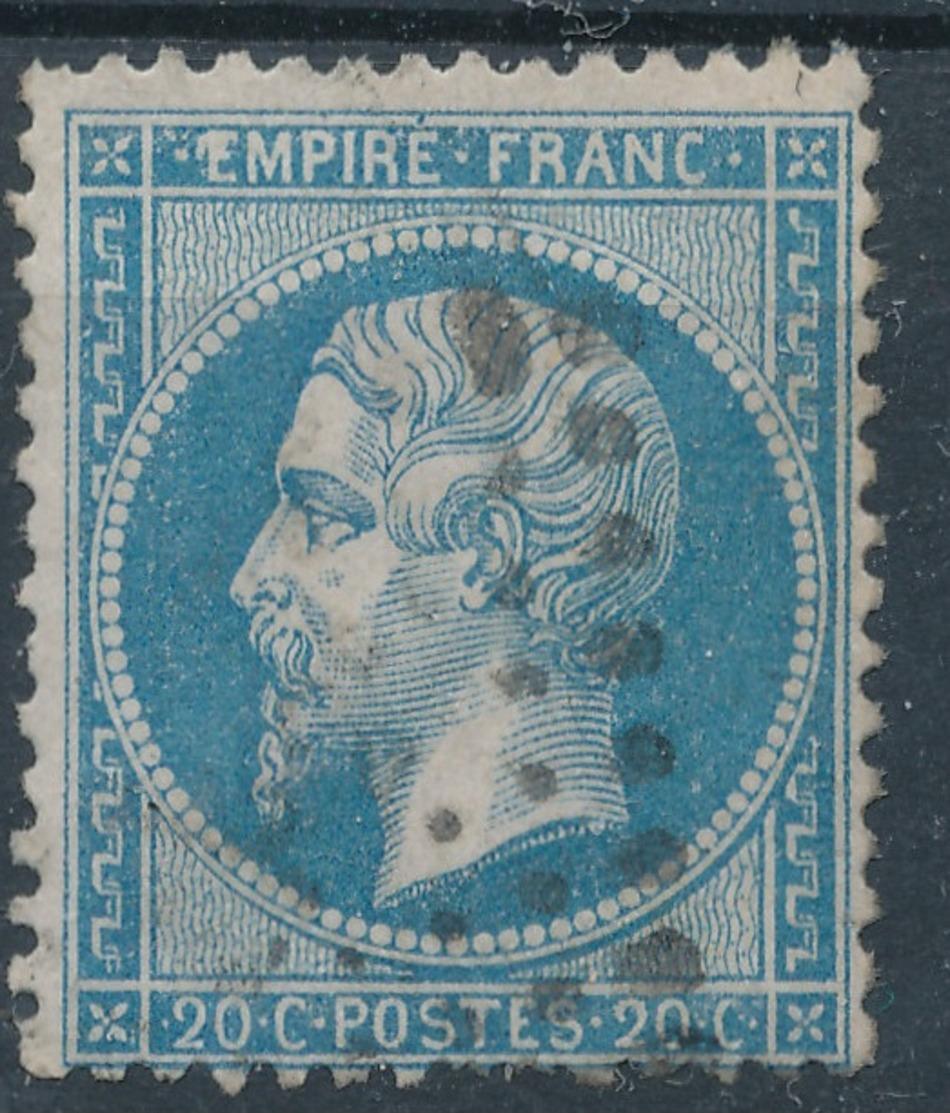 N°22 VARIETE ET OBLITERATION. - 1862 Napoléon III