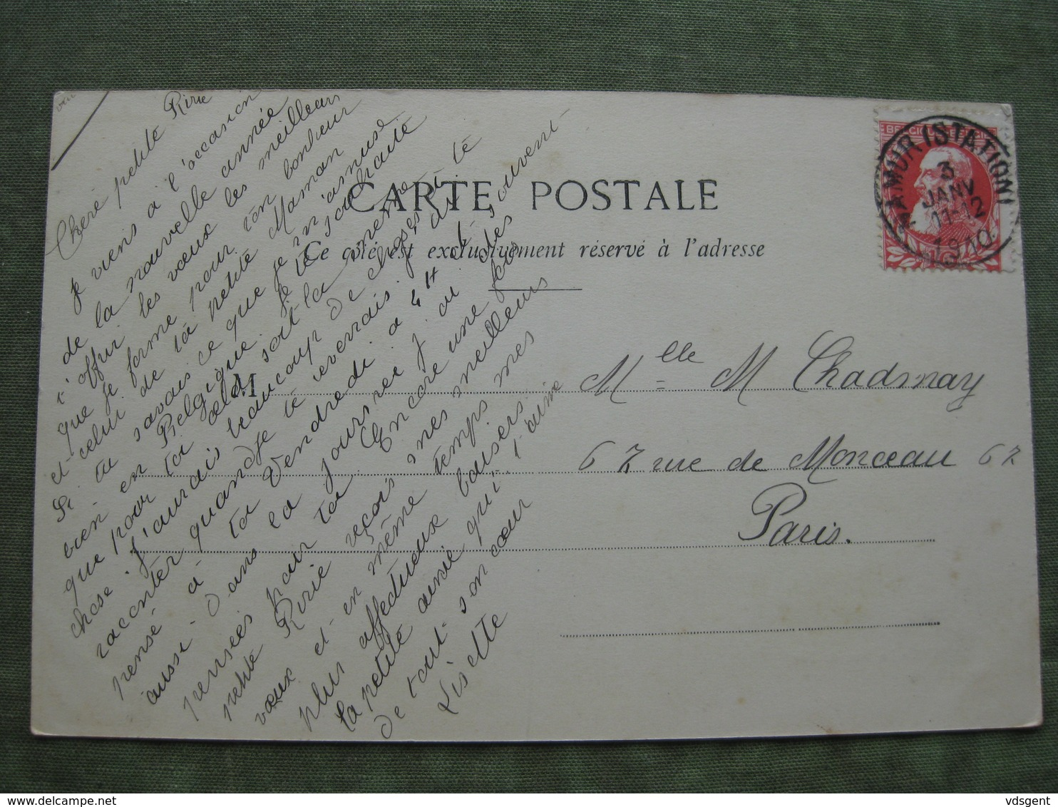 NAMUR - LA RUE DE FER 1910 ( Ed. Albert Sugg ) - Namur