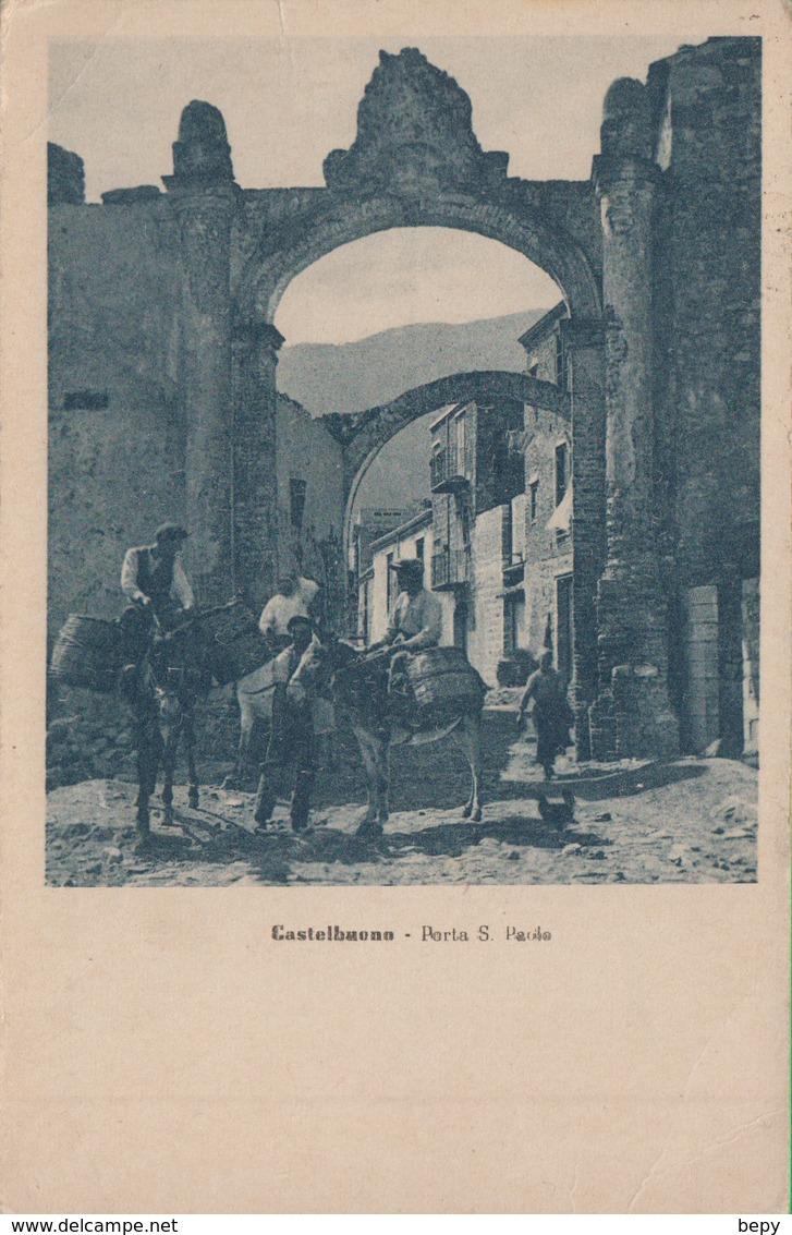 CASTELBUONO. Porta San Paolo. Palermo. 230b - Palermo