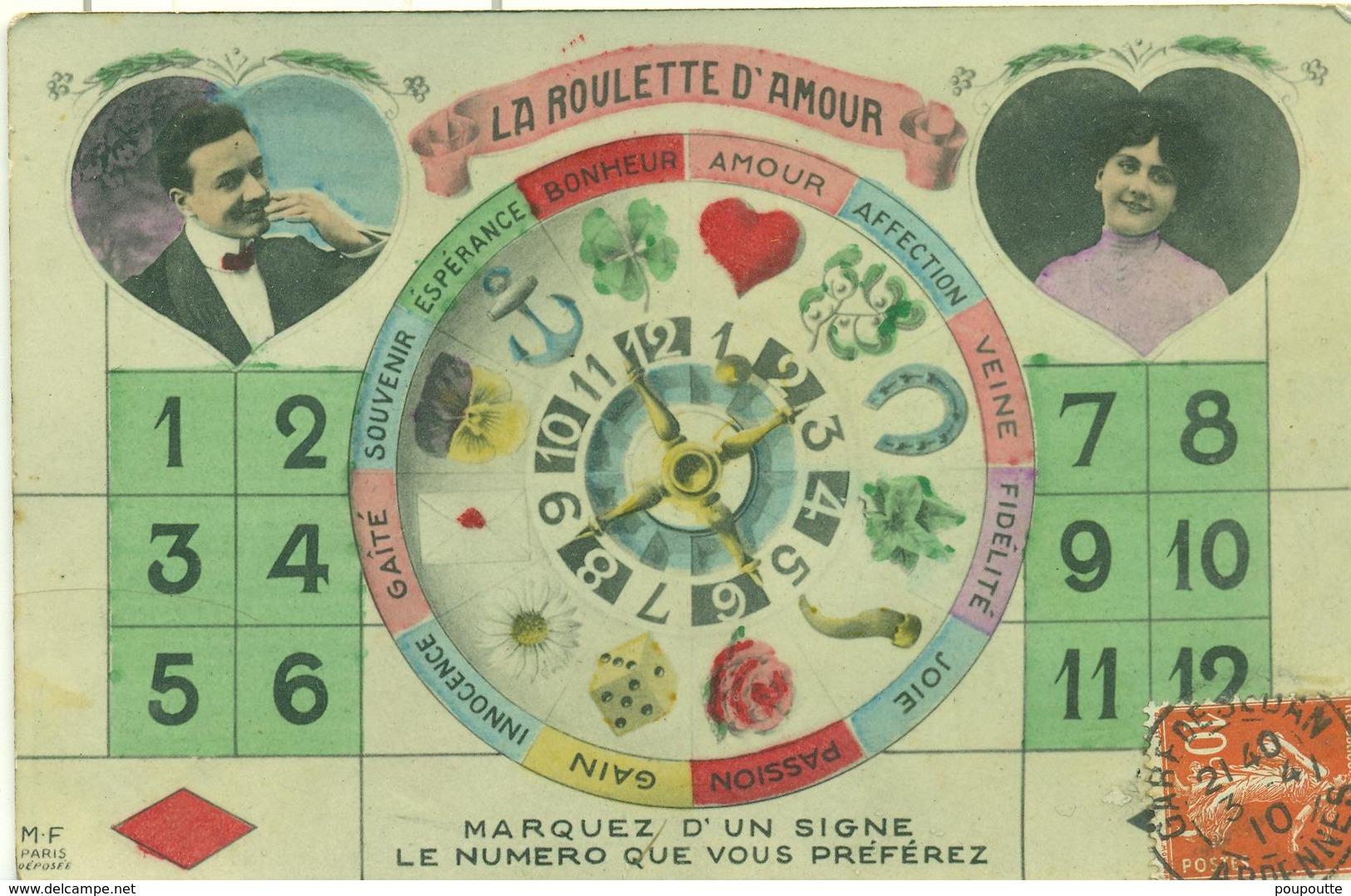 LA ROULETTE D'AMOUR. - Fantasie