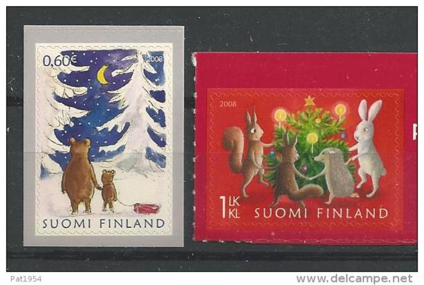 Finlande 2008 N° 1904/1905 Neufs Noël - Finlande
