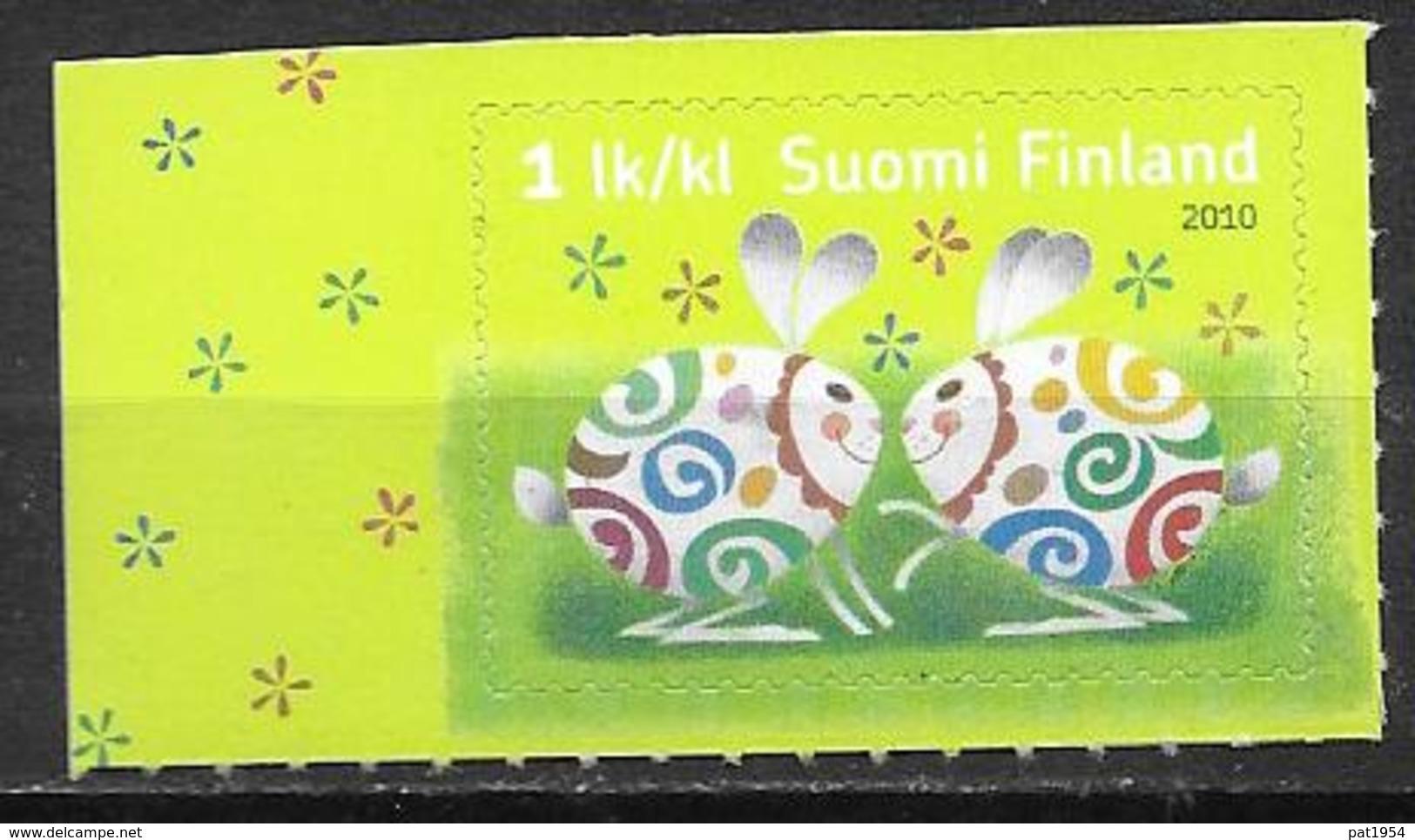 Finlande 2010 N° 1979 Neuf Pâques Avec Lapins - Finlande