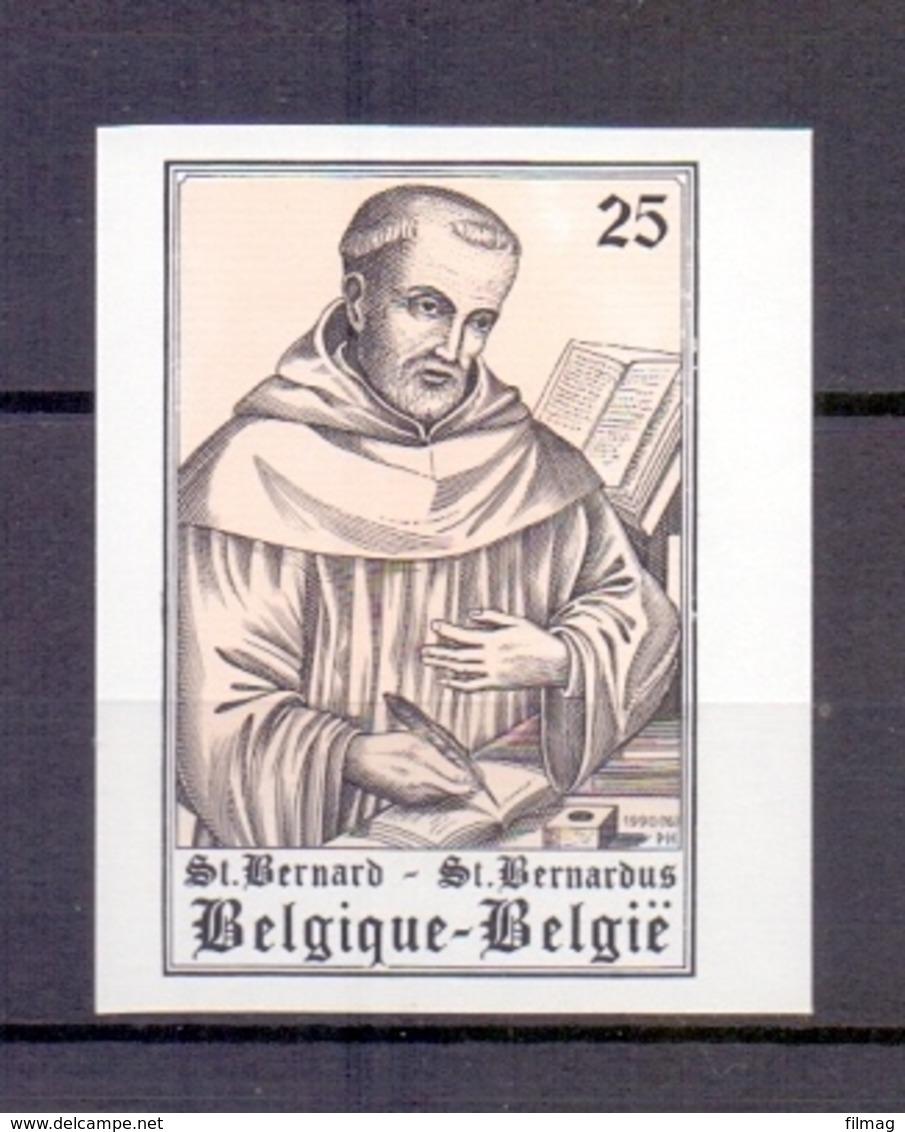 2391 SINT BERNARDUS ONGETAND   POSTFRIS** 1990 - Belgien