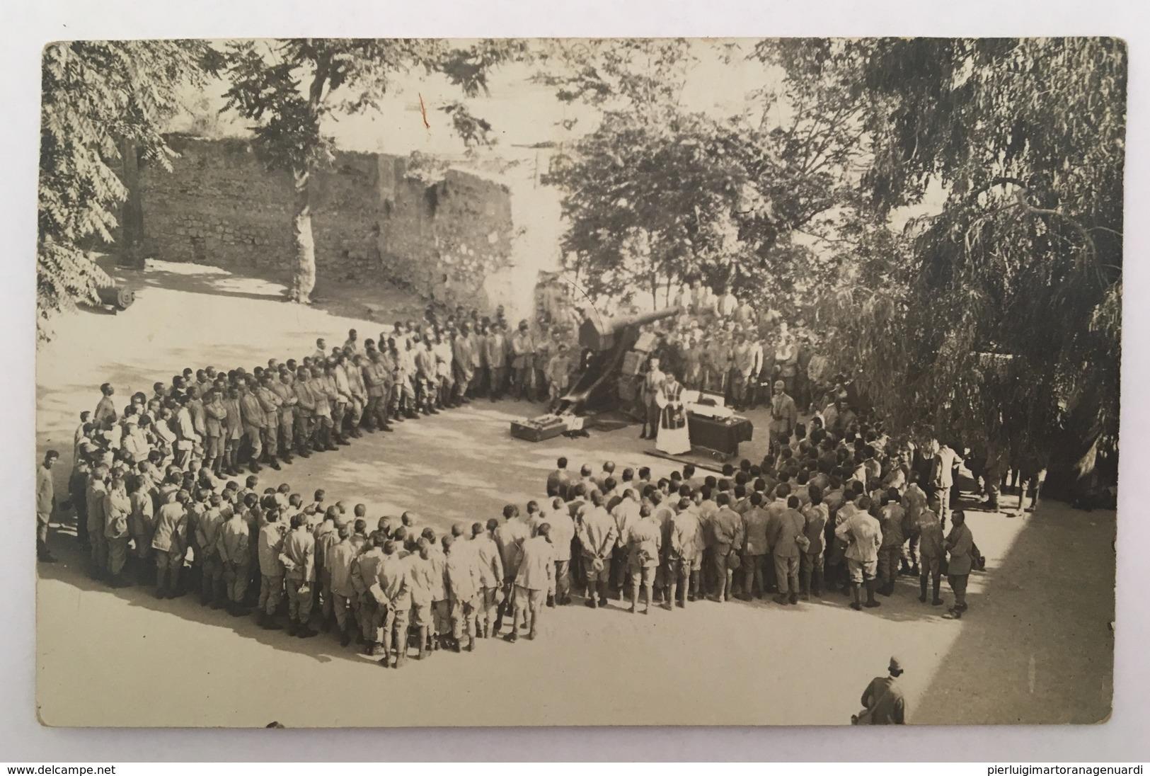 415 Benedizione Dei Soldati Anno 1917 - Guerra 1914-18