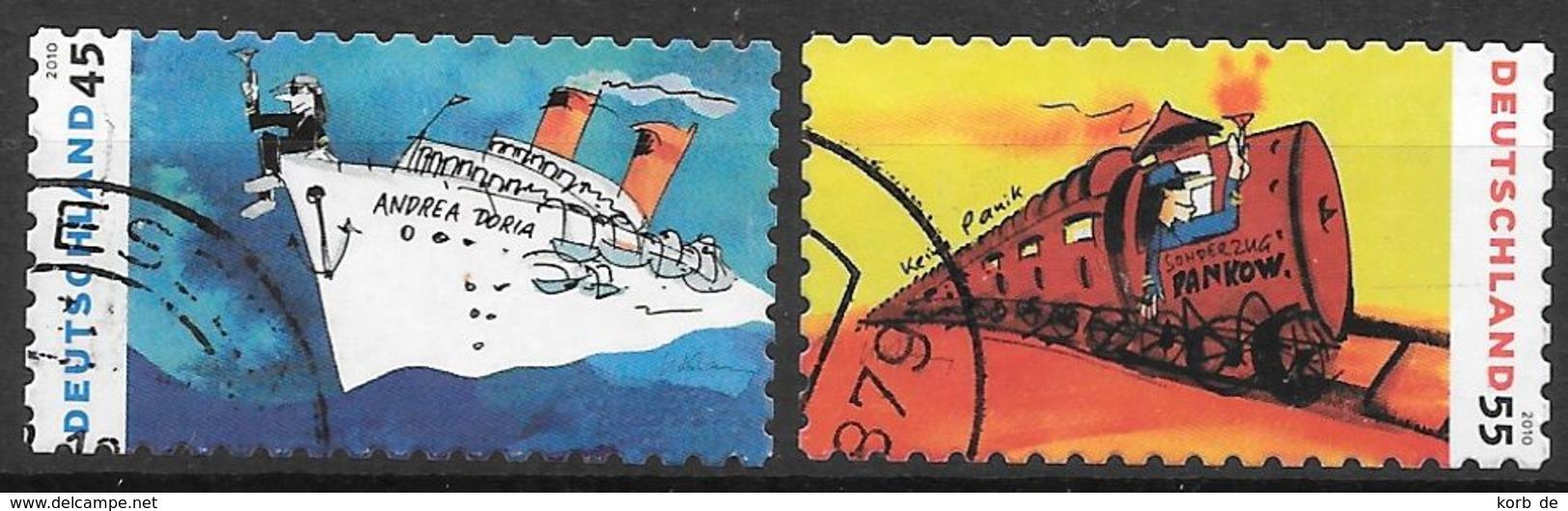 BRD 2010 / MiNr.   2807 - 2808   O / Used  (K_60_17) - [7] République Fédérale