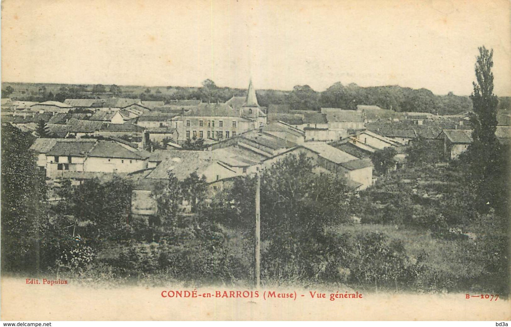 55 - CONDE EN BARROIS - VUE GENERALE - France