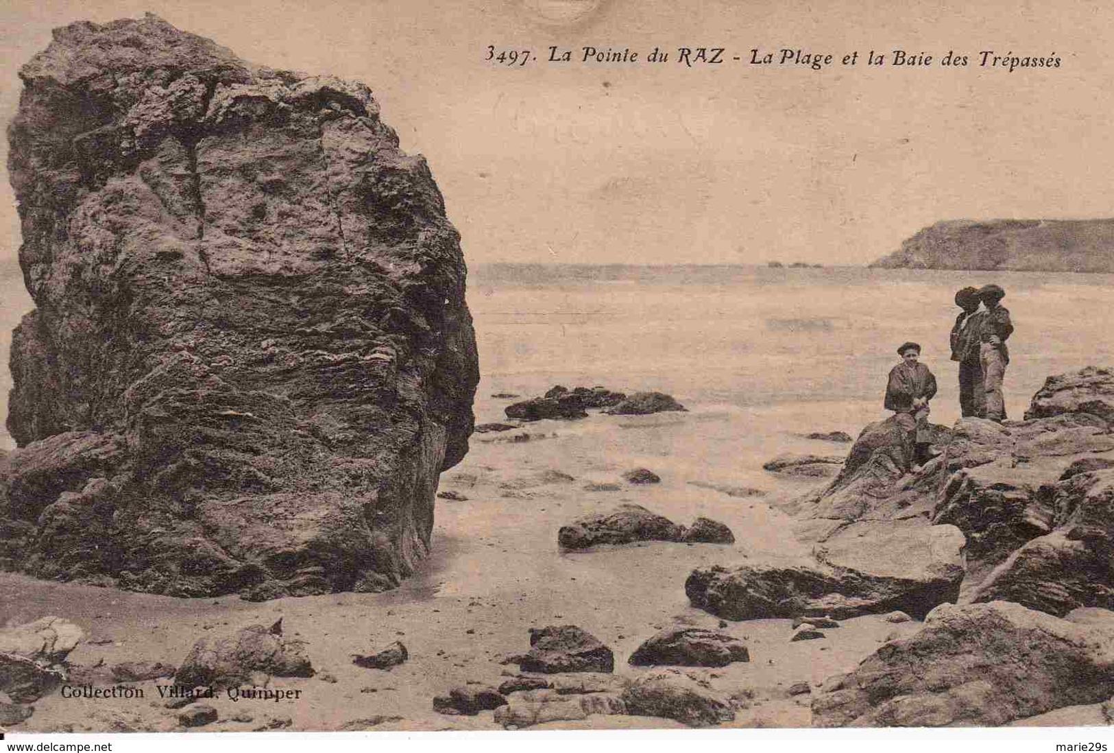 29 CLEDEN-CAP-SIZUN La Plage Et La Baie Des Trépassés - Animée - Cléden-Cap-Sizun
