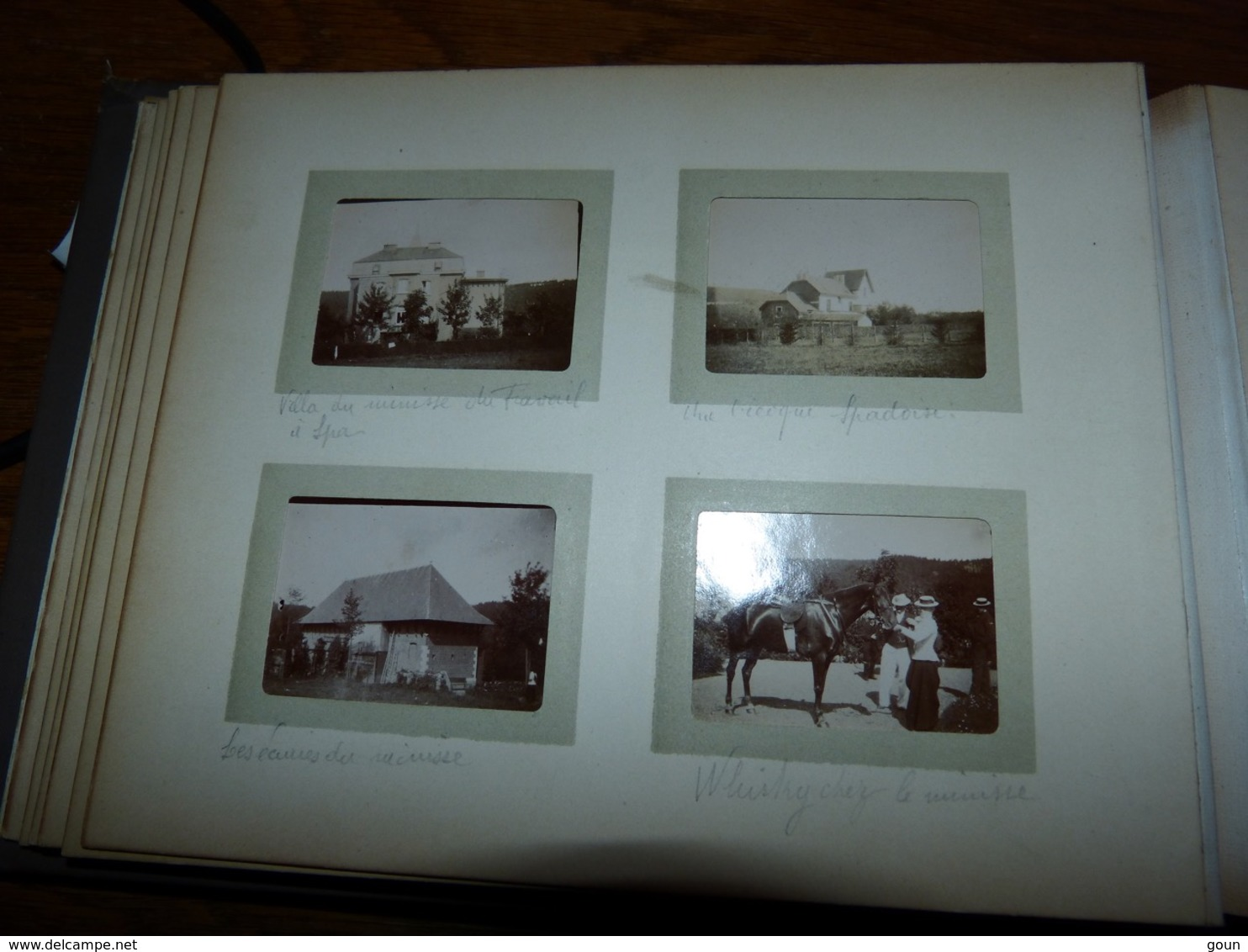 Album Pocket Kodak 79 Photos Fin Années 1890 Spa  Angleur  (dont Chateau Et Ferme) Vielsam Paris Rue D'Arras - Fotos