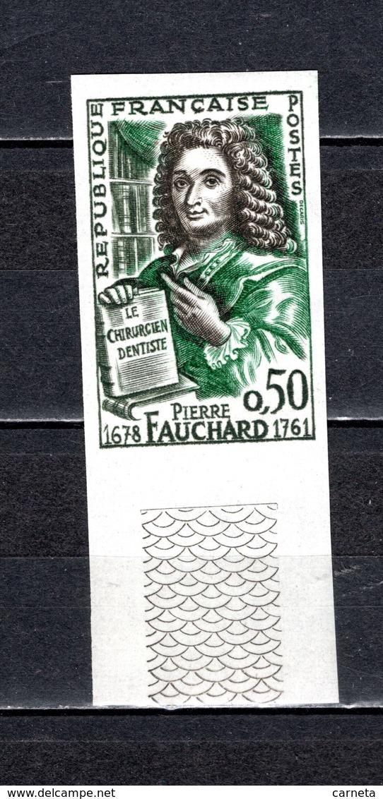 FRANCE  N° 1307a  NON DENTELE NEUF SANS CHARNIERE  COTE 23.00€   PIERRE FAUCHARD - Francia