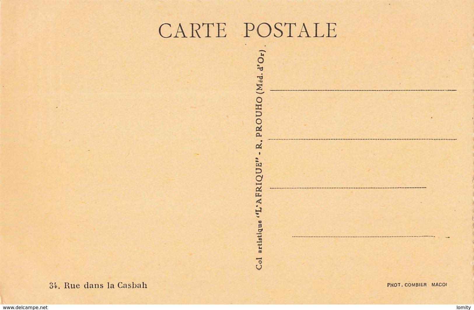 Algerie Texte Pierre Aguetant Rue Dans La Casbah , à La Devanture S' étalent Bonbons ... - Algérie