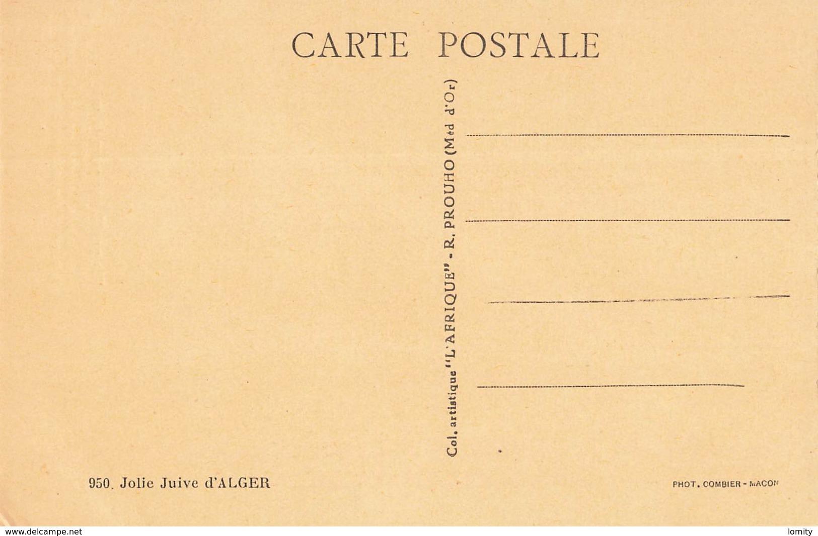 Algerie Texte Pierre Aguetant Jolie Juive D' Alger , Fin Profil Aux Yeux De Velours ... Judaica - Algérie