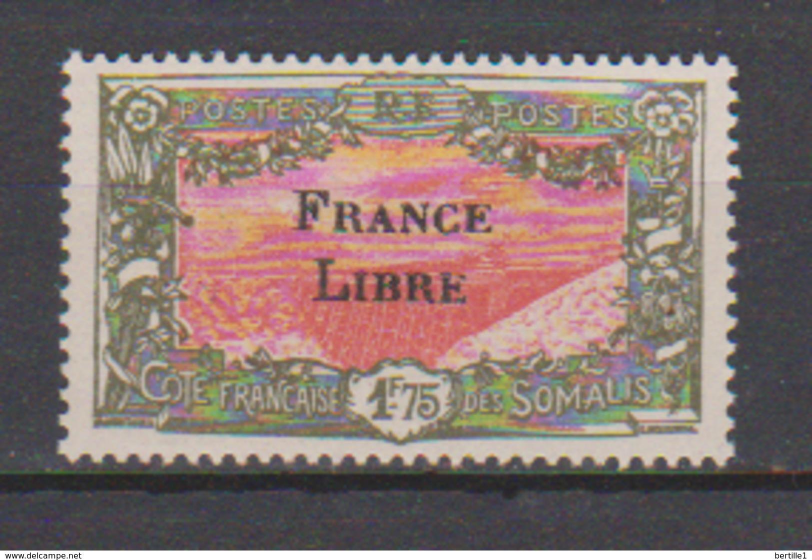 COTE DES SOMALIS          N°  YVERT  203    NEUF SANS CHARNIERE      ( Nsch 02/15 ) - Côte Française Des Somalis (1894-1967)