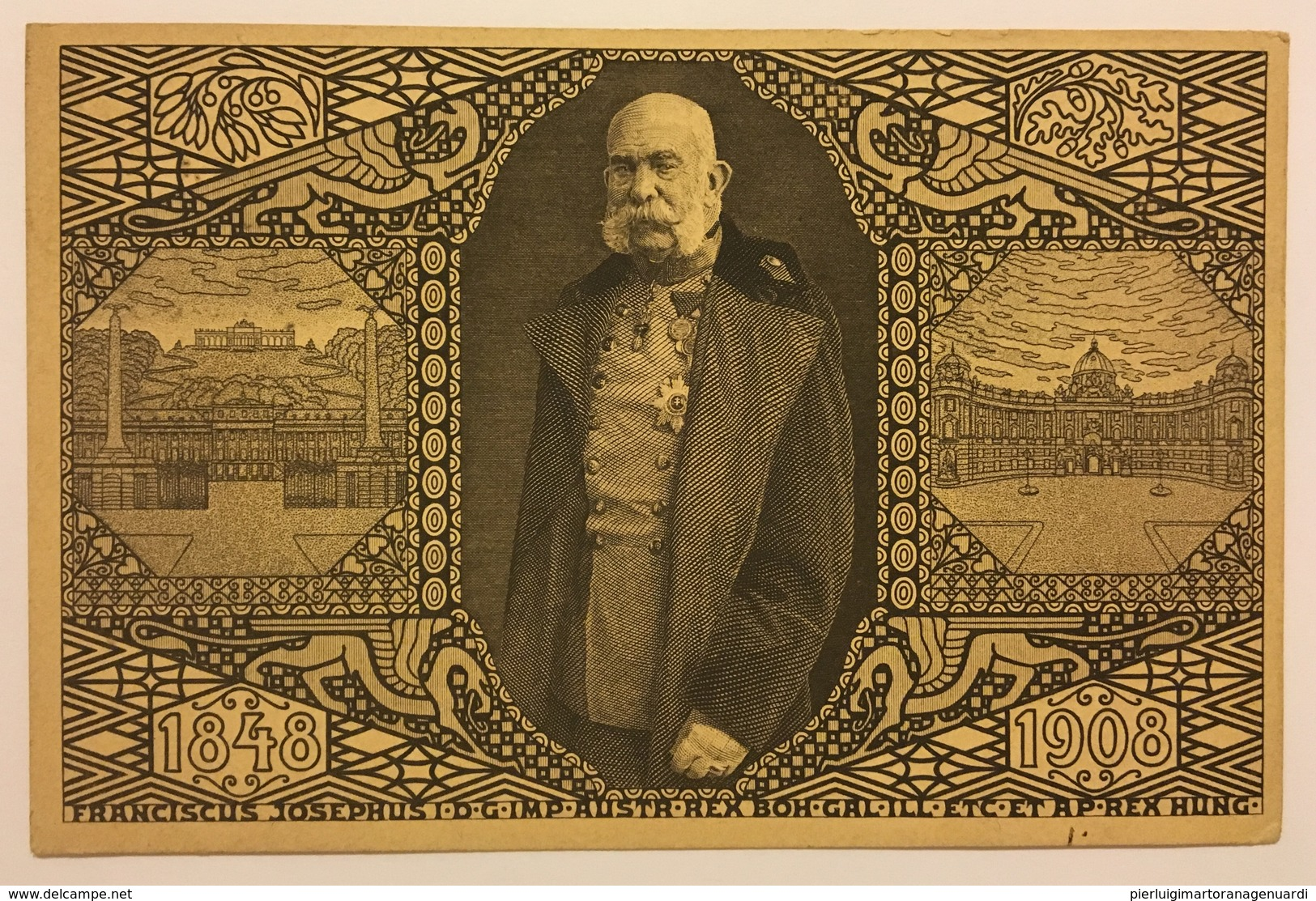 447 Franciscus Josephus Imperatore D' Austria 1848 - 1908 - Storia