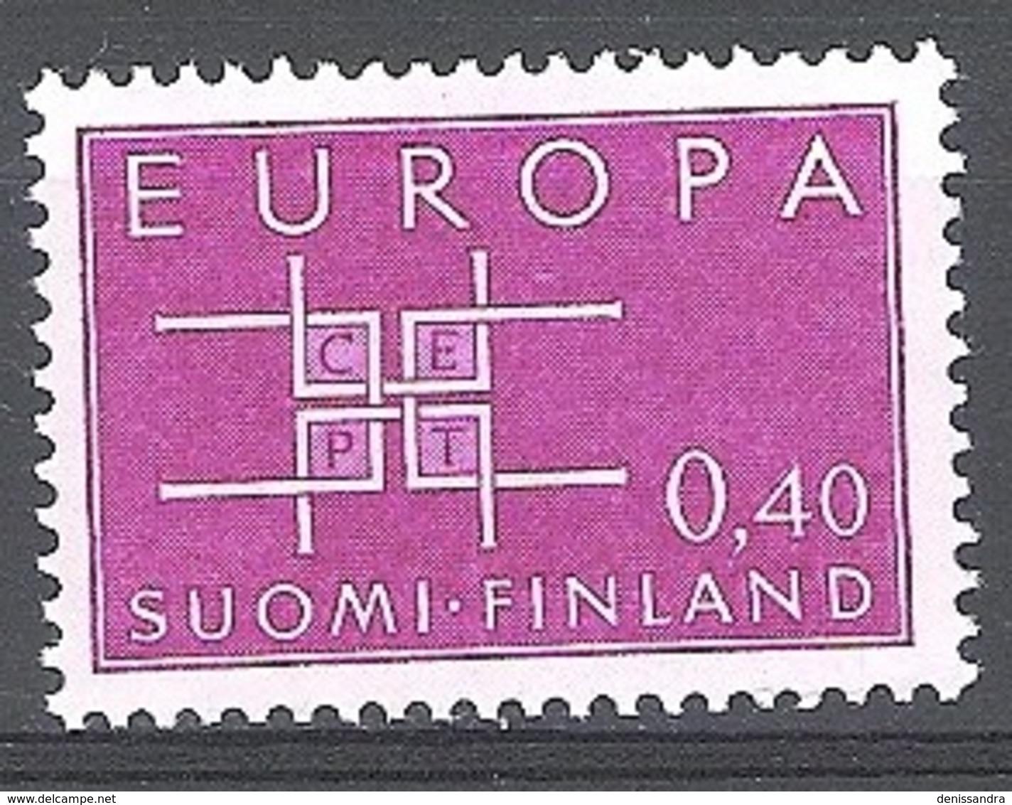 Finland 1963 Michel 576 Neuf ** Cote (2017) 2.05 Euro Europa CEPT - Finlande