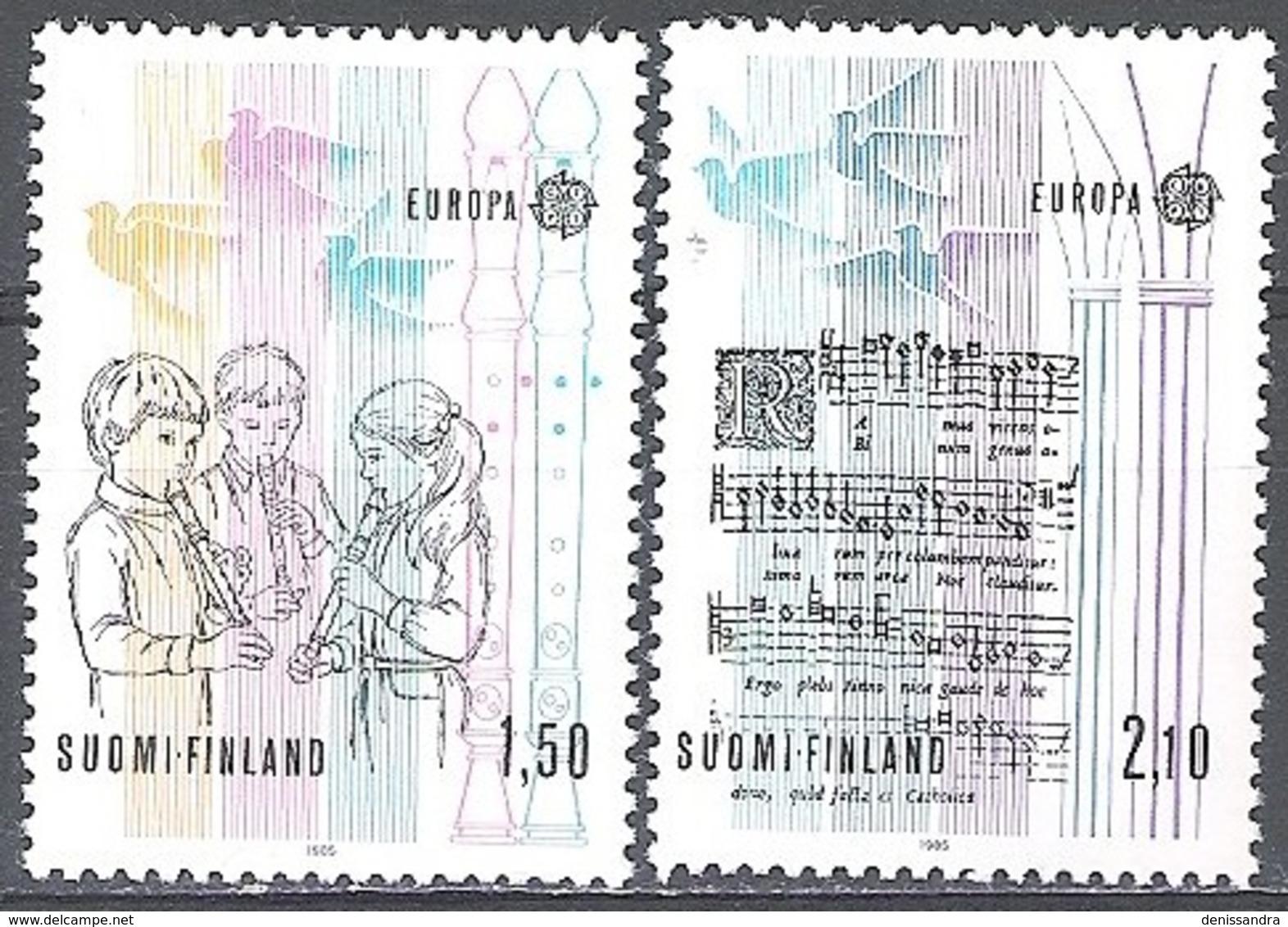 Finland 1985 Michel 968 - 969 Neuf ** Cote (2017) 10.00 Euro Europa CEPT Année Européenne De La Musique - Neufs