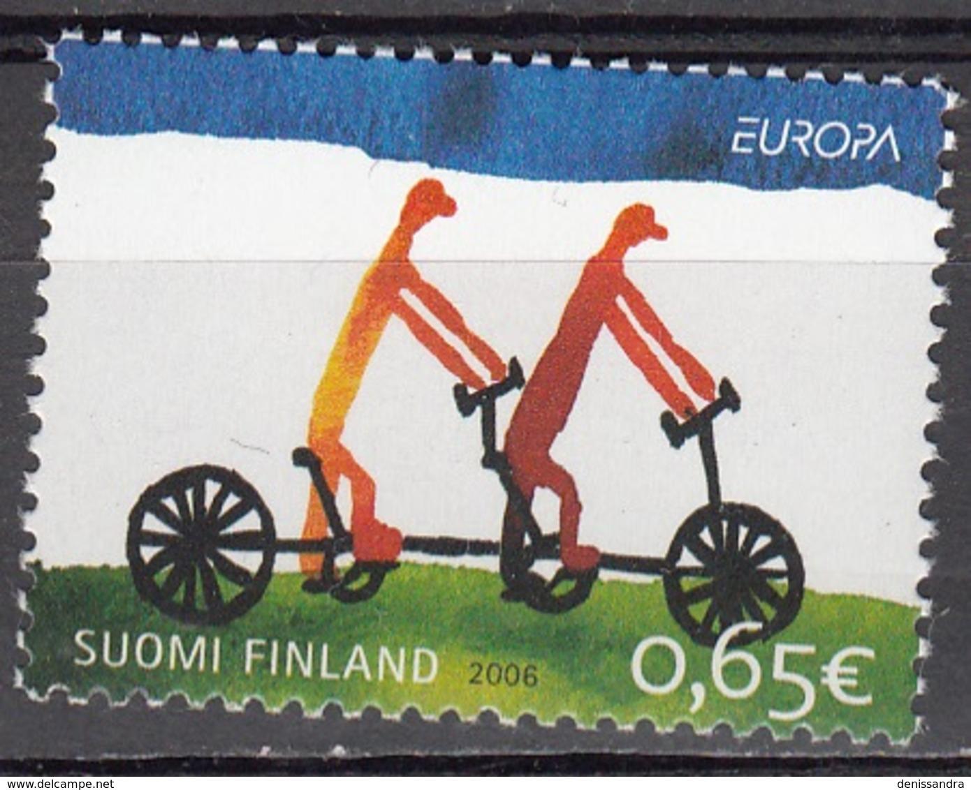 Finland 2006 Michel 1810 Neuf ** Cote (2017) 2.00 Euro Europa CEPT L'intégration - Finlande