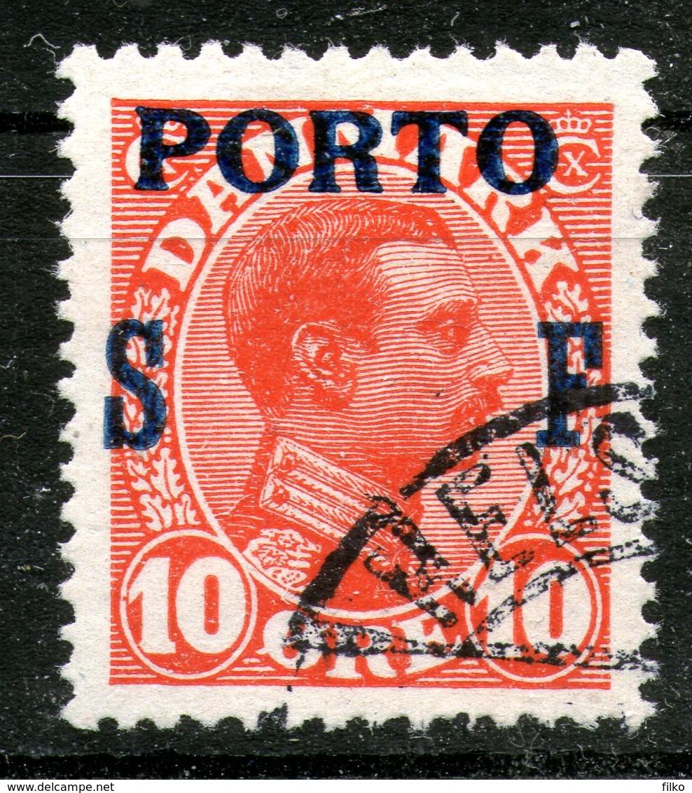 Denmark,1921,service,Mi#P9,Y&T#T8,cancel,as Scan - Officials