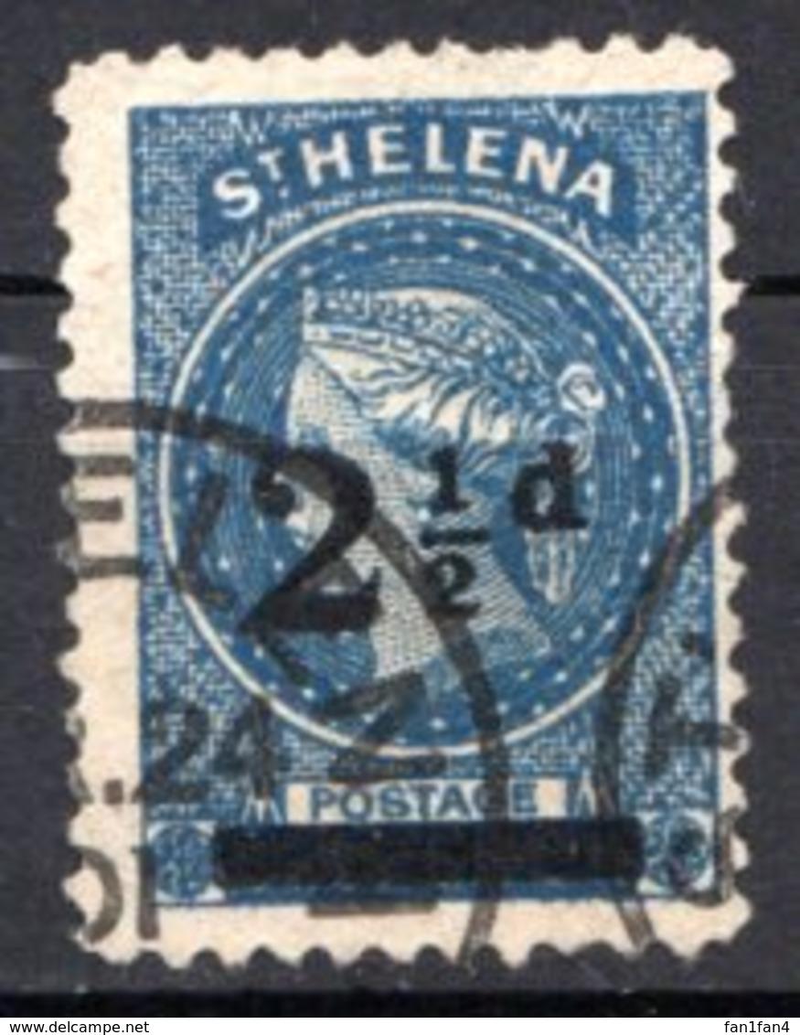 SAINTE HELENE - (Colonie Britannique) - 1884-94 - N° 15 - 2 1/2 P. Bleu - (Victoria) - Isola Di Sant'Elena