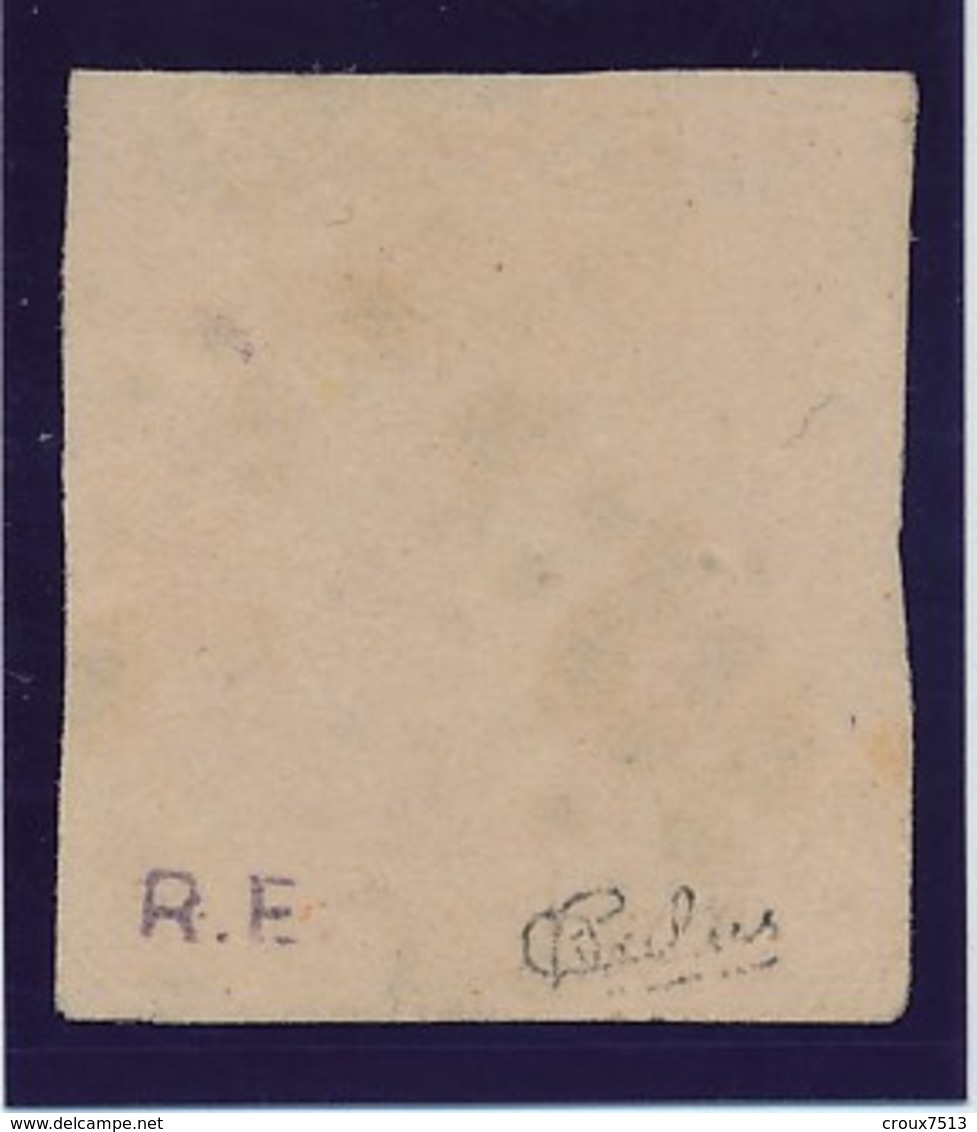 40 C Orange N° 48 Signé Calves TB. - 1870 Emissione Di Bordeaux