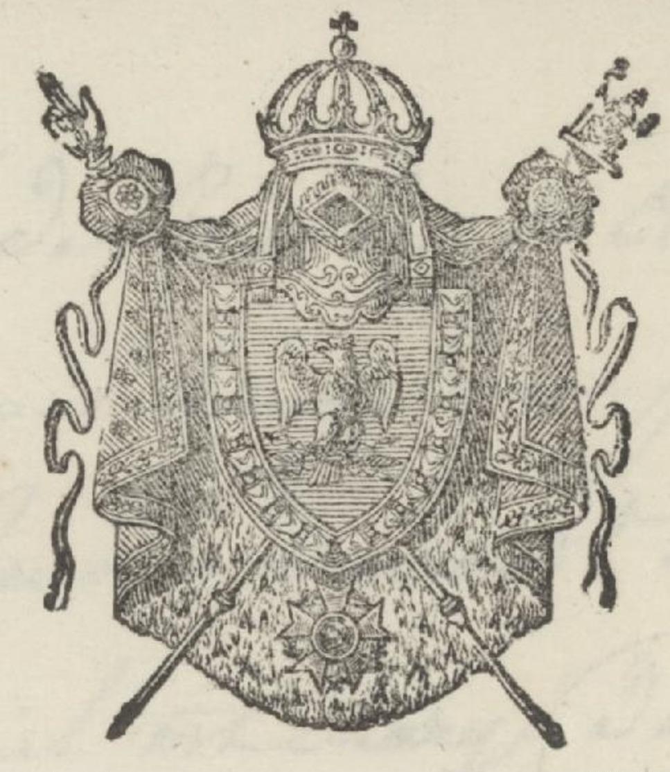 Héraldique Porrentruy 11.4.1811 Sujet : Circulation De Fausses Pièces De Monnaies - Marcophilie (Lettres)