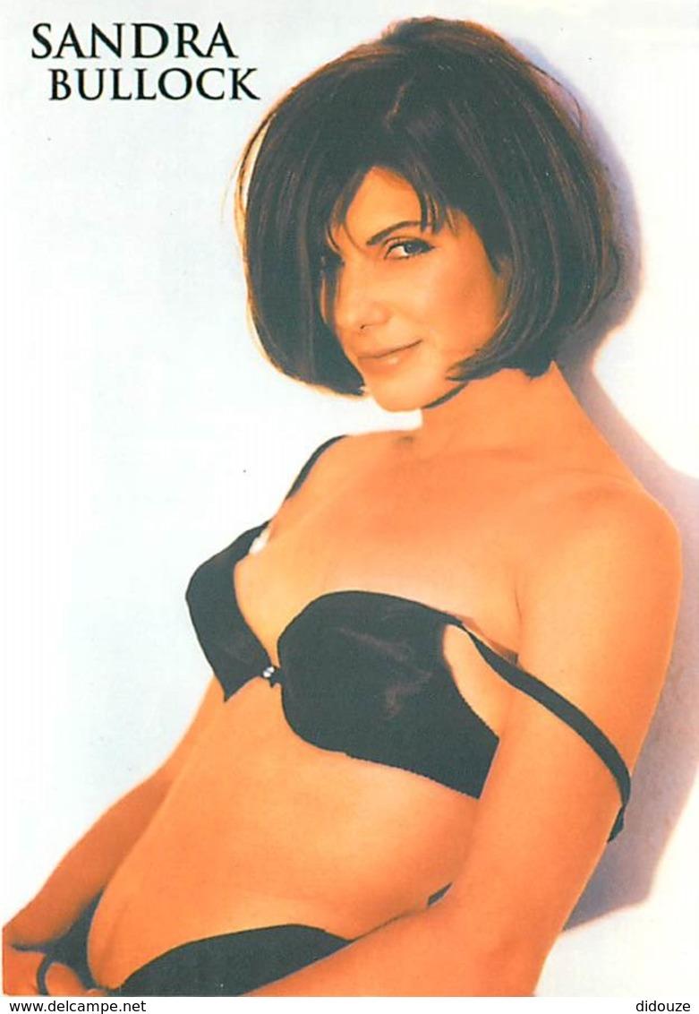 Nus - Sandra Bullock - Actrice - Carte Neuve - Voir Scans Recto-Verso - Desnudos Adultos (< 1960)