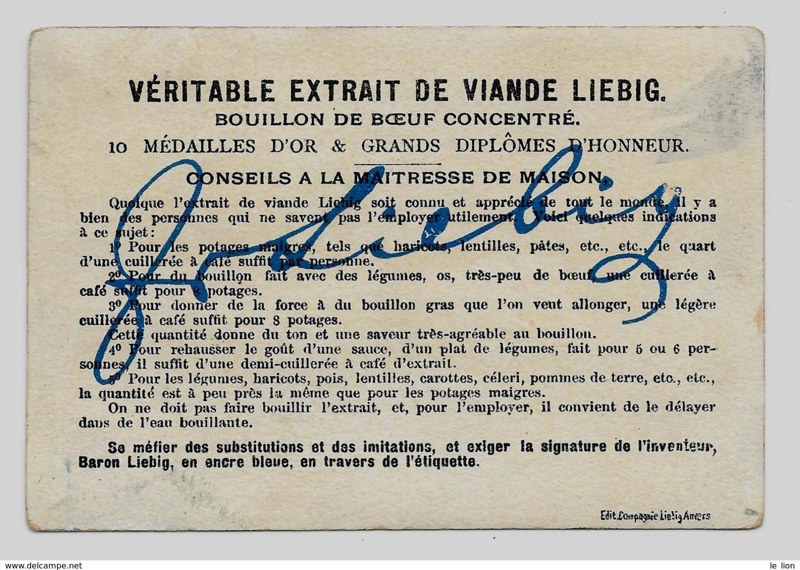 Chromo Liebig Francese S153 B-giacca Marrone 1883/85 OTTIMO STATO - Liebig