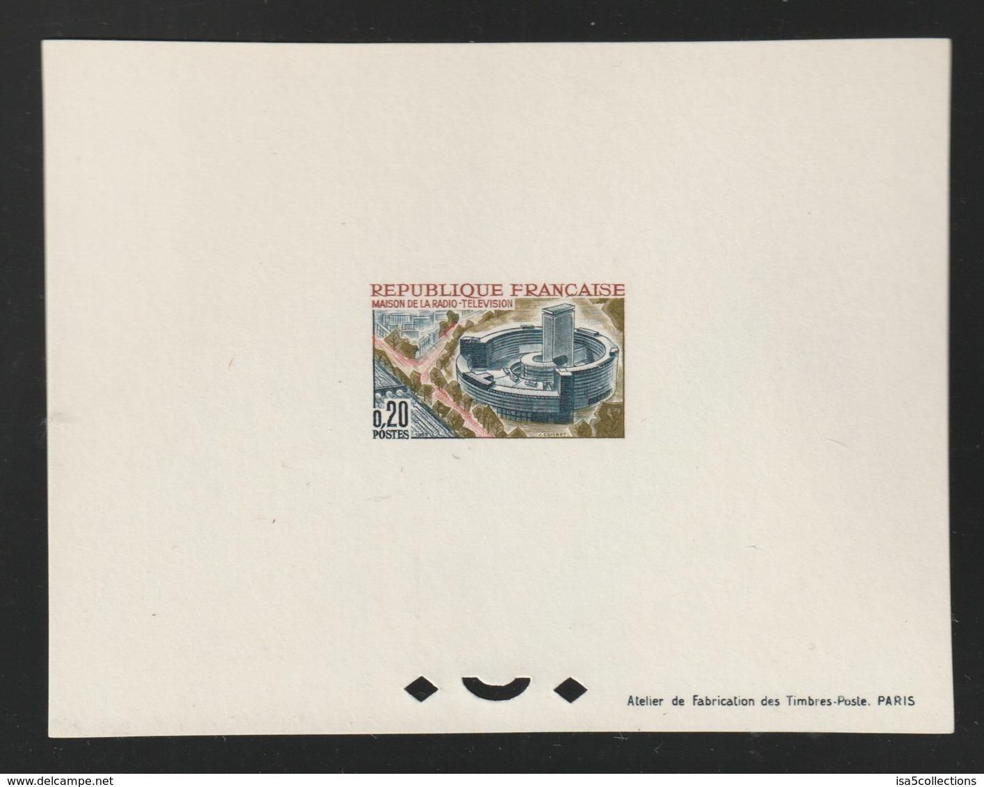 1963 - YT 1402 - Epreuve De Luxe  - Cote 50€ - - Epreuves De Luxe