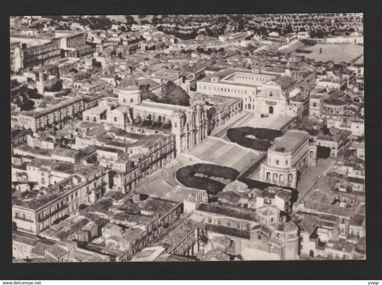 Italie - Progetto NOTO - Veduta Aéréa - Vue Aérienne De La Ville - Altre Città