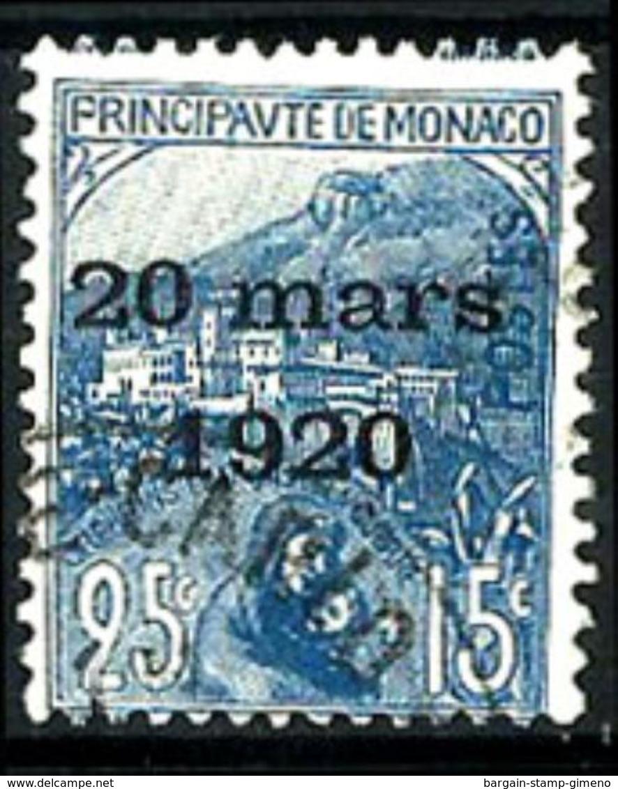 Mónaco Nº 40º Usado. Cat.15€ - Monaco