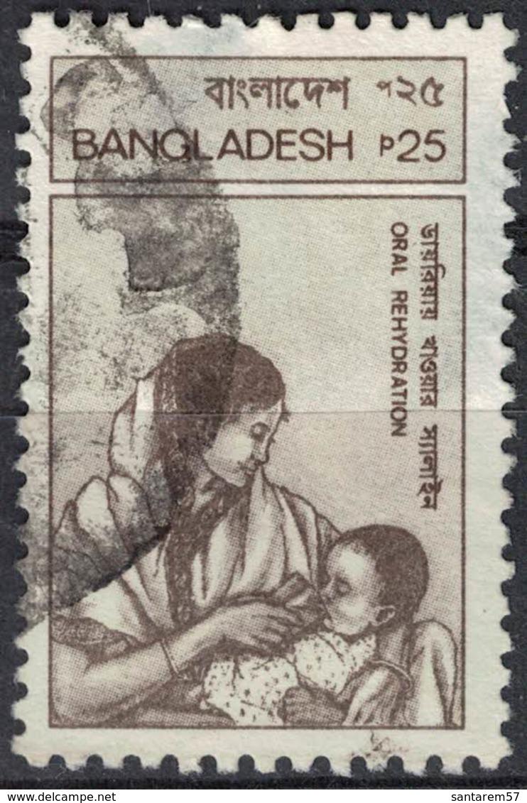 Bangladesh 1988 Oblitéré Used Journée Mondiale De La Santé Réhydratation Orale SU - Bangladesh