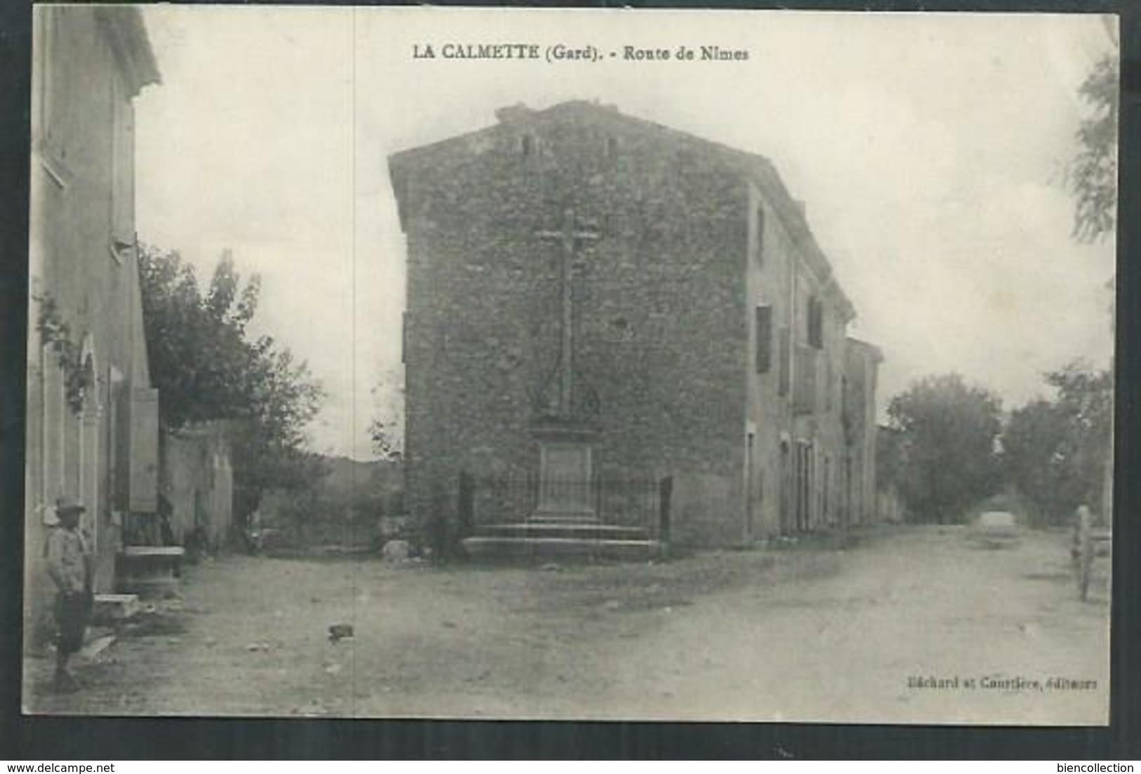 Gard. La Calmette, La Route De Nîmes - France
