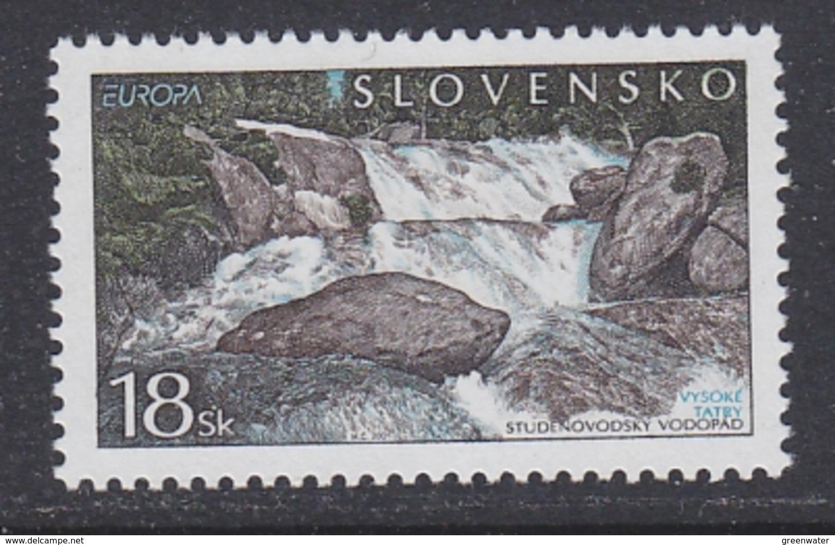 Europa Cept 2001 Slovakia 1v ** Mnh (45696A) - 2001