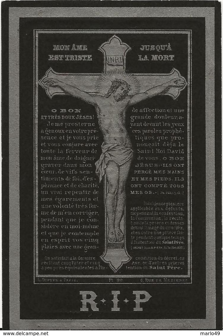 DP. OCTAVIE AMPE ° HANDZAEME 1848 - + BEVEREN 1882 - Religion & Esotérisme
