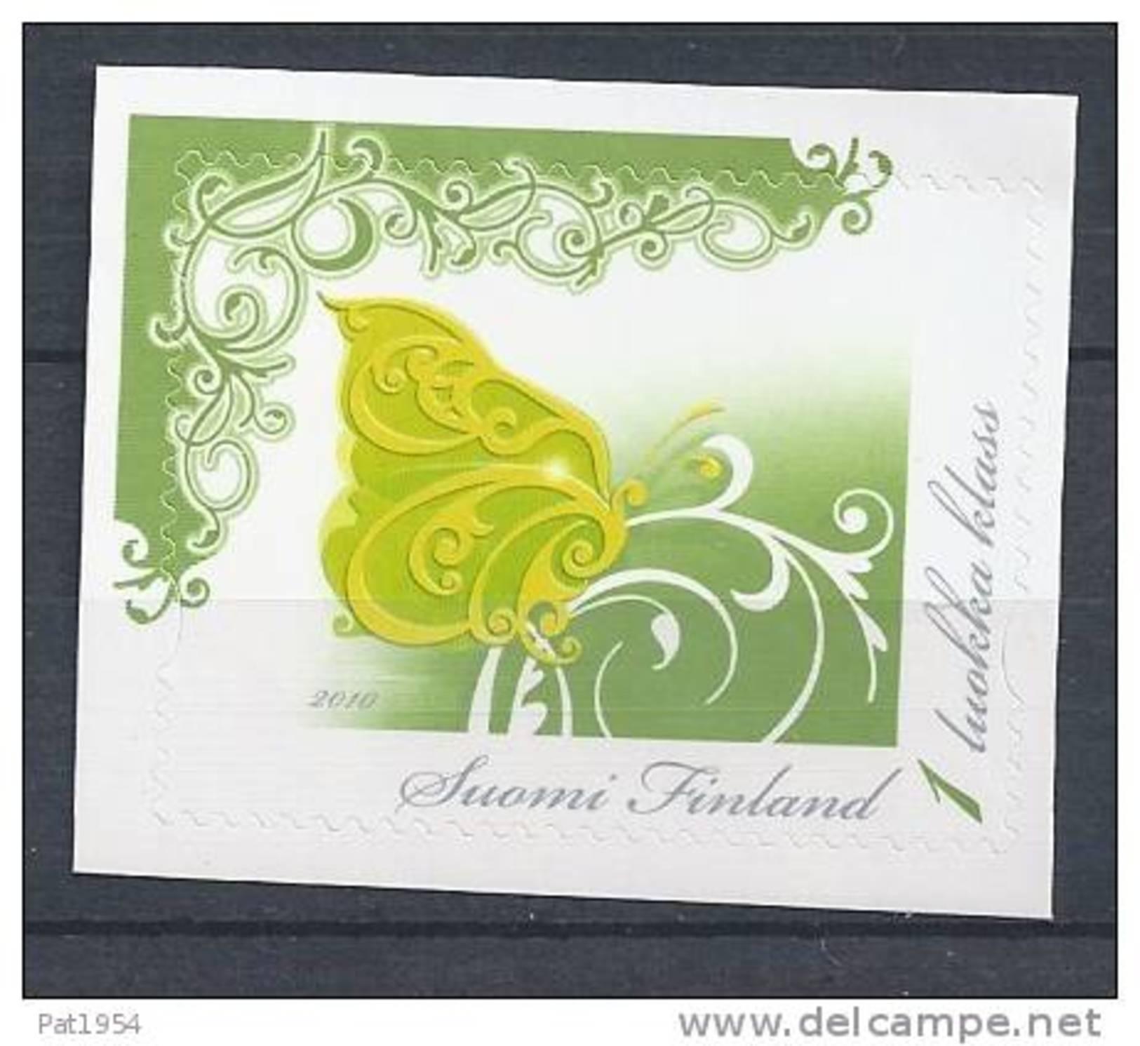 Finlande 2010 N° 2017 Neuf  Timbre Personnalisé, Papillon - Finlande