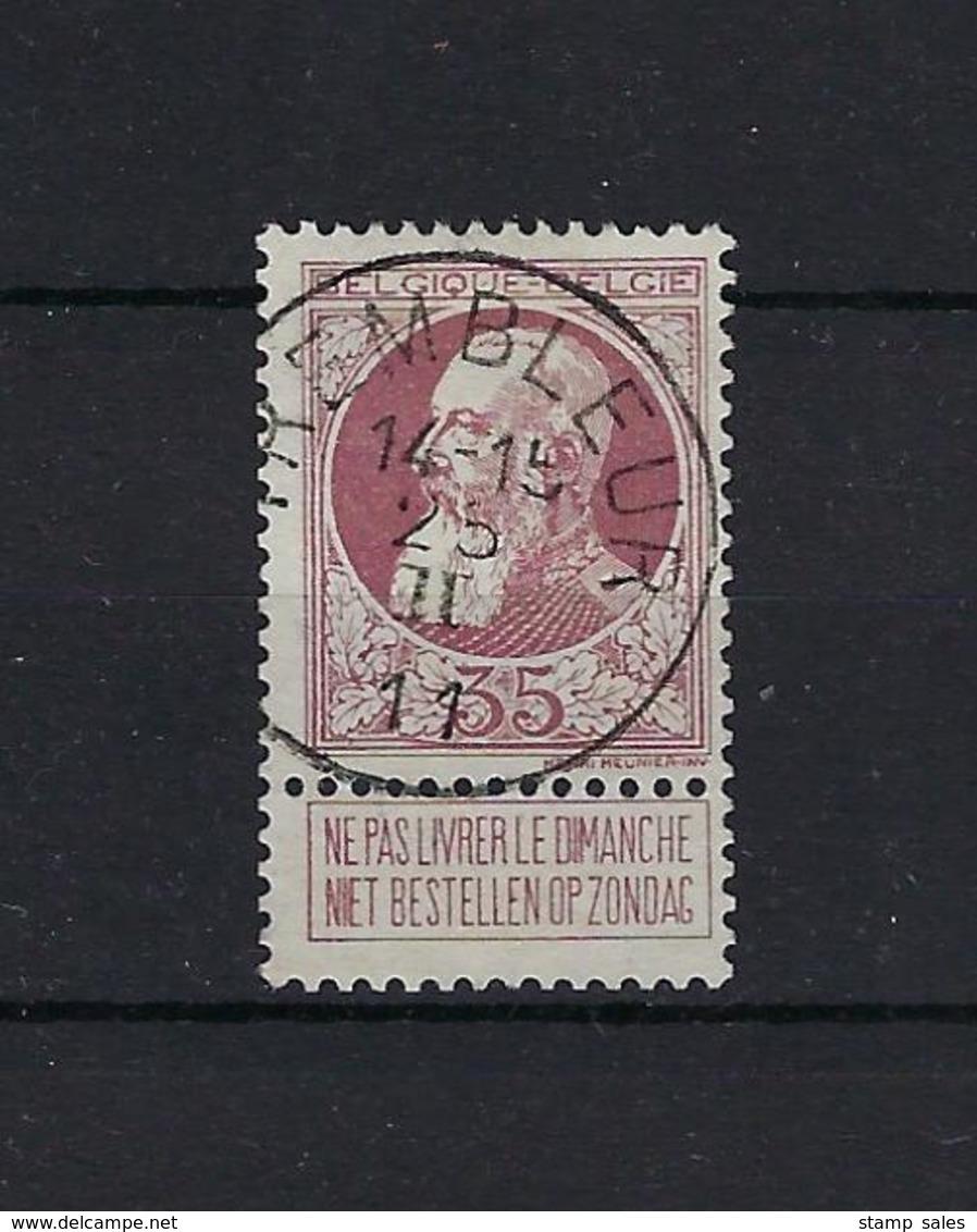 N°77 GESTEMPELD Trembleur 1911 COBA € 12,50 SUPERBE - 1905 Grosse Barbe