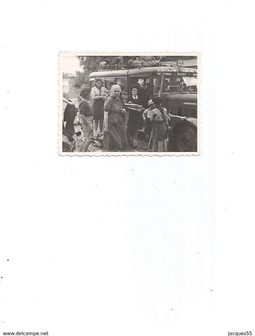 Bus St-julien Du Pinet-yssingeaux-1947-juillet - Autres Communes