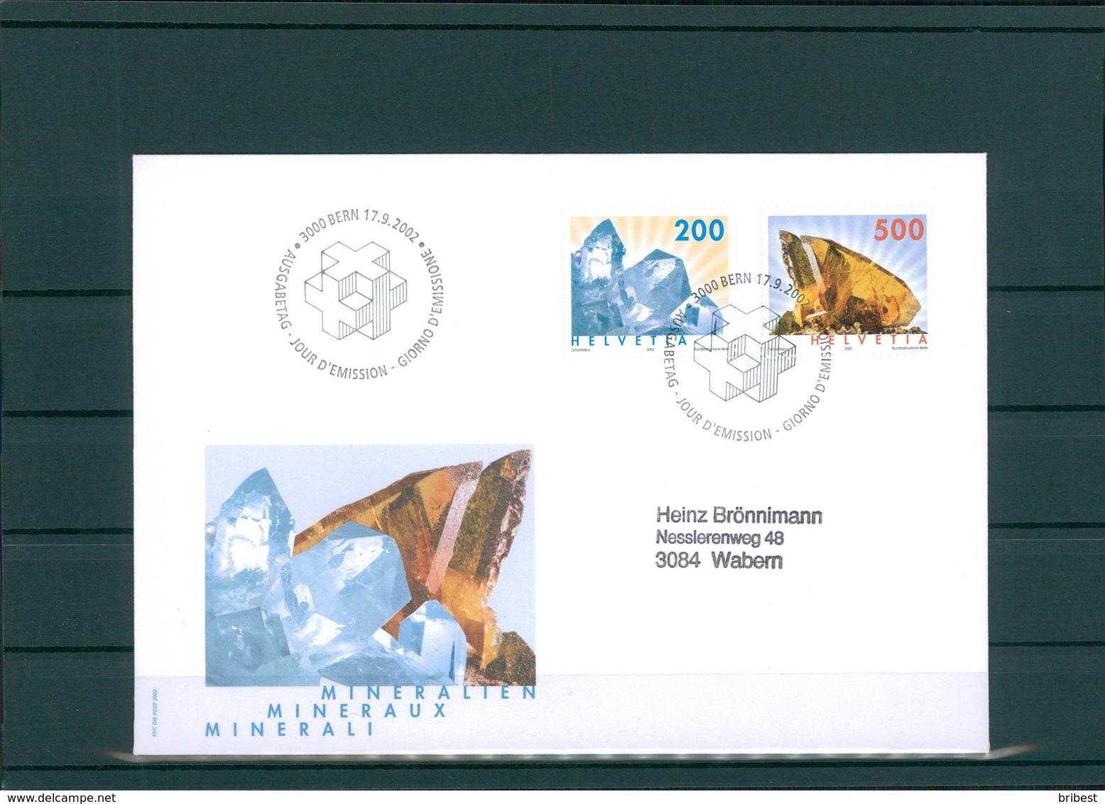 SCHWEIZ 2002 Ersttagsbrief (201931) - Schweiz