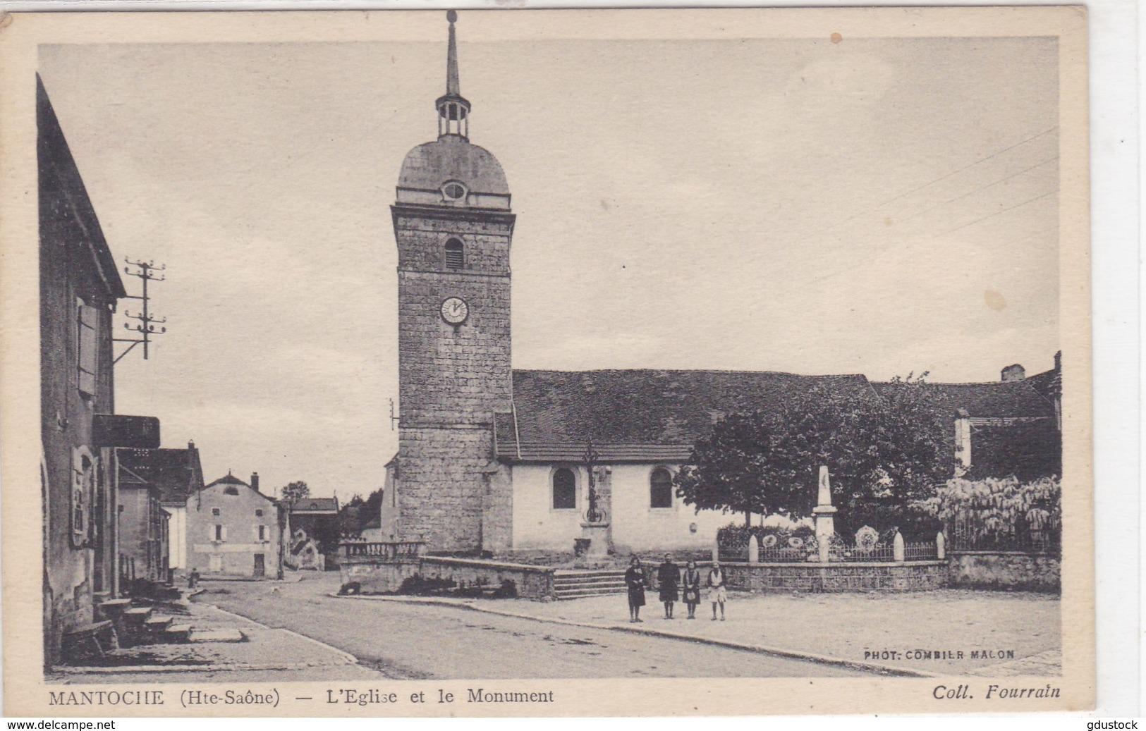 Haute-Saône - Mantoche - L'Eglise Et Le Monument - Sonstige Gemeinden