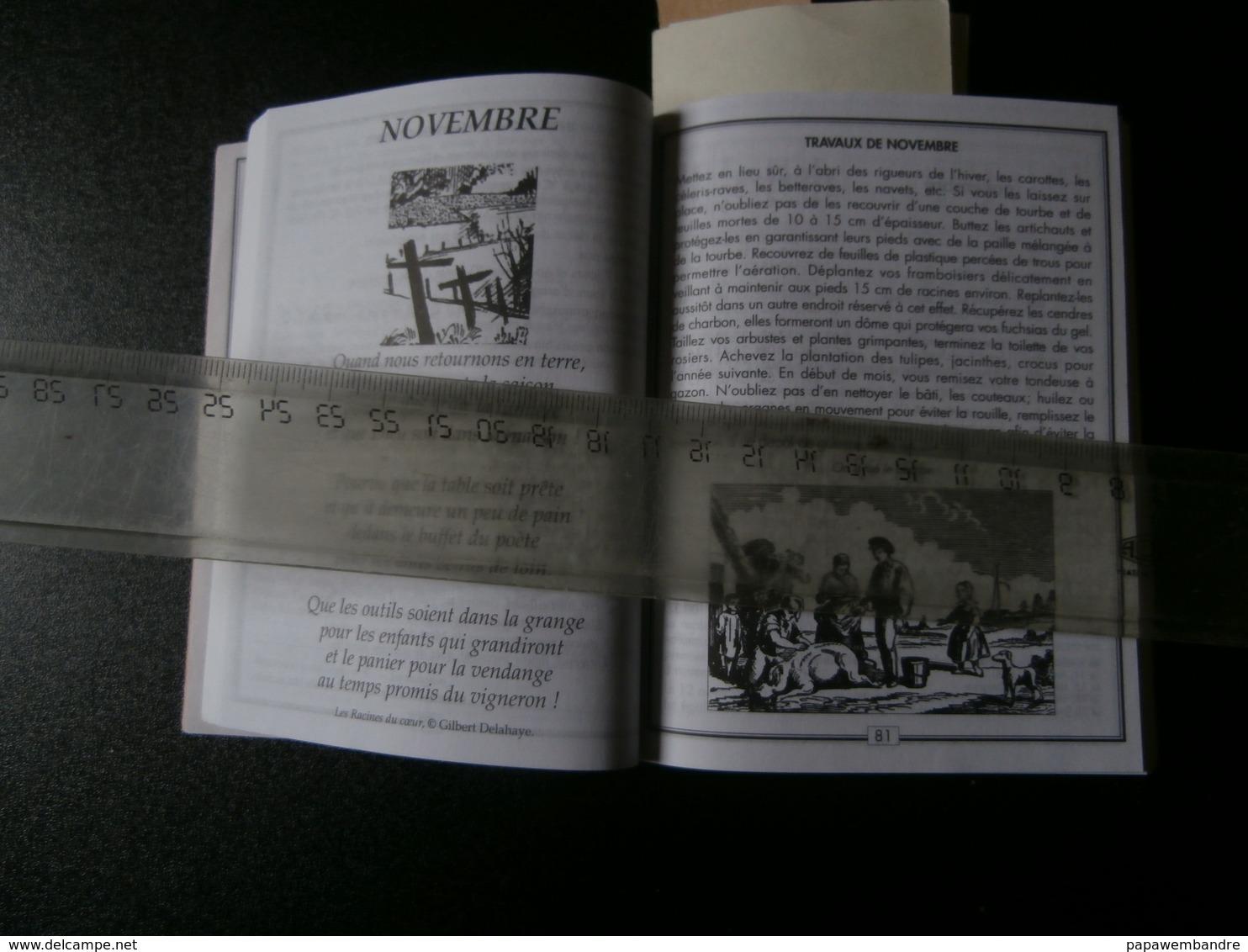 Le Grand Double Almanach Franco-belge Dit De Liège 2001 (Casterman) - Calendriers