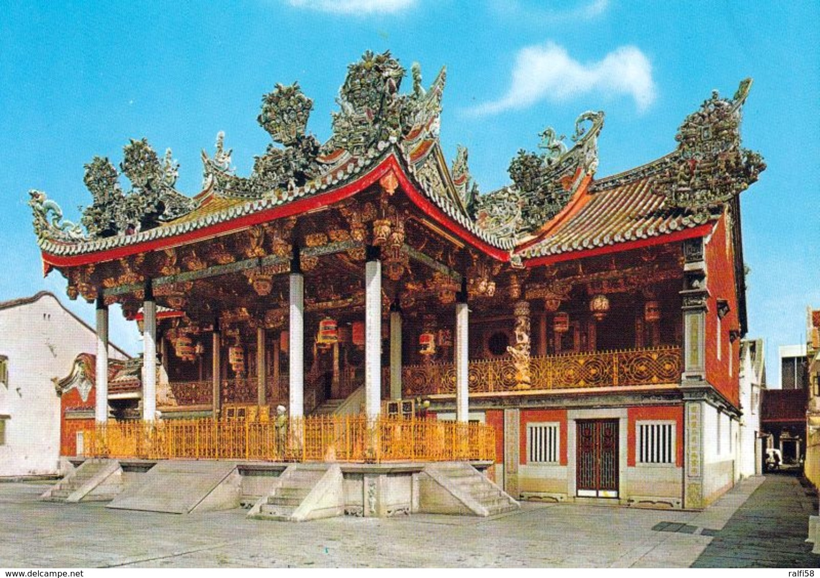 1 AK Malaysia * Khoo Kongsi - Haus Des Chinesischen Khoo-Familienclans In George Town Auf Penang - UNESCO Weltkulturerbe - Malaysia