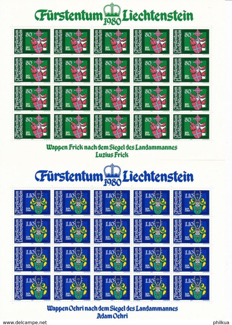 Zumstein 681-684 / Michel 743-746 Bogen-Serie Einwandfrei Postfrisch/** - Blocks & Sheetlets & Panes