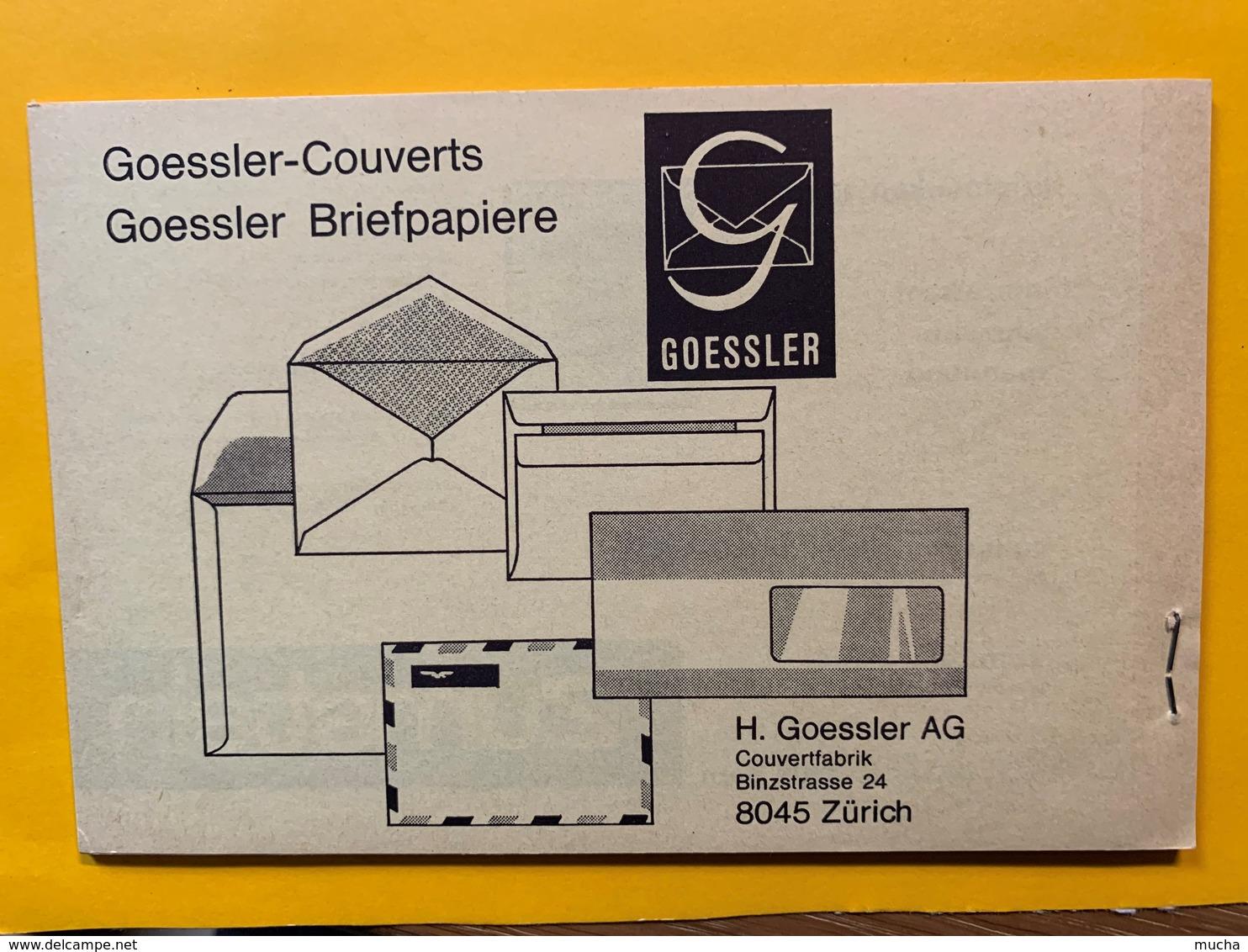 9790 -  Carte No 201 1969  20 Ct Vert Carnet Complet De 10 Cartes Publicité Graetz TV Et Furrer Machine à Laver - Entiers Postaux