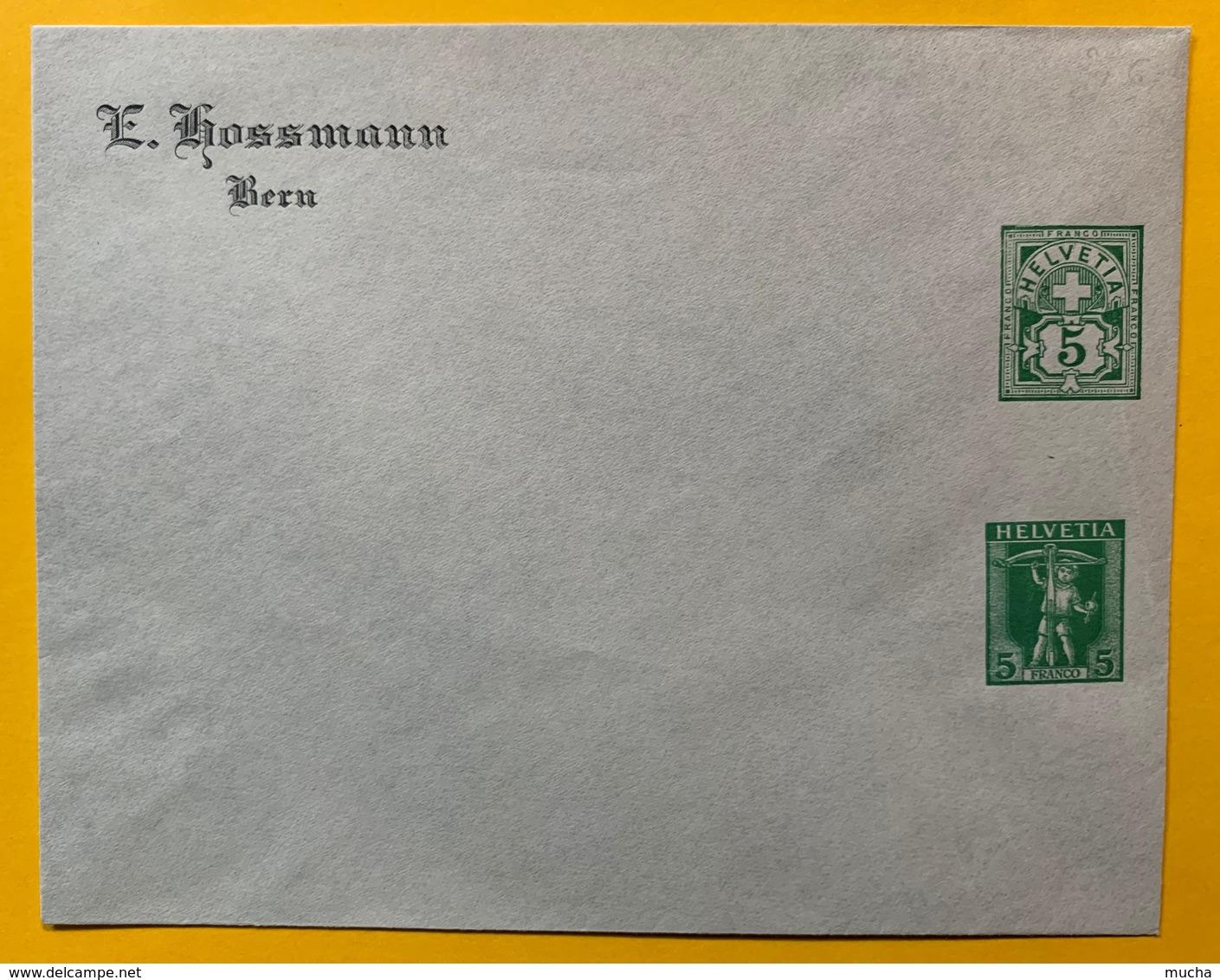 9796 -  Enveloppe Privée E Hossmann  5 Ct 5 Ct  Neuve - Entiers Postaux