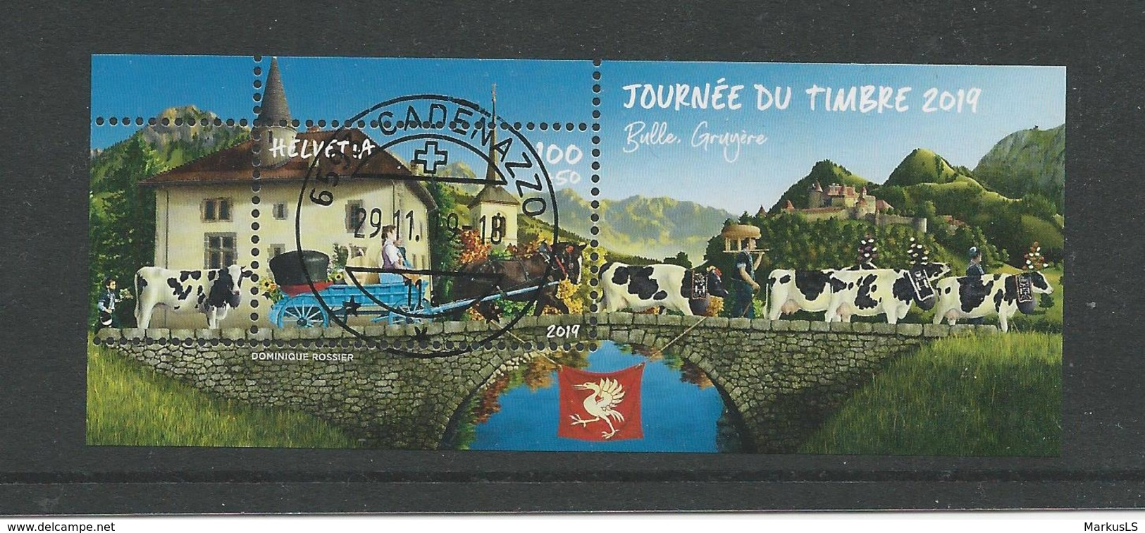 2019 Bloc Journée Du Timbre (1902) - Schweiz