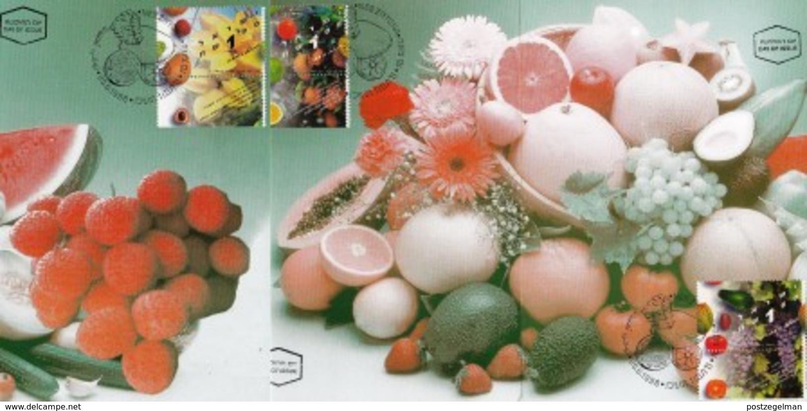 ISRAEL, 1996, Maxi-Card(s), Fruit, SG1335-1337, F5512 - Tarjetas – Máxima
