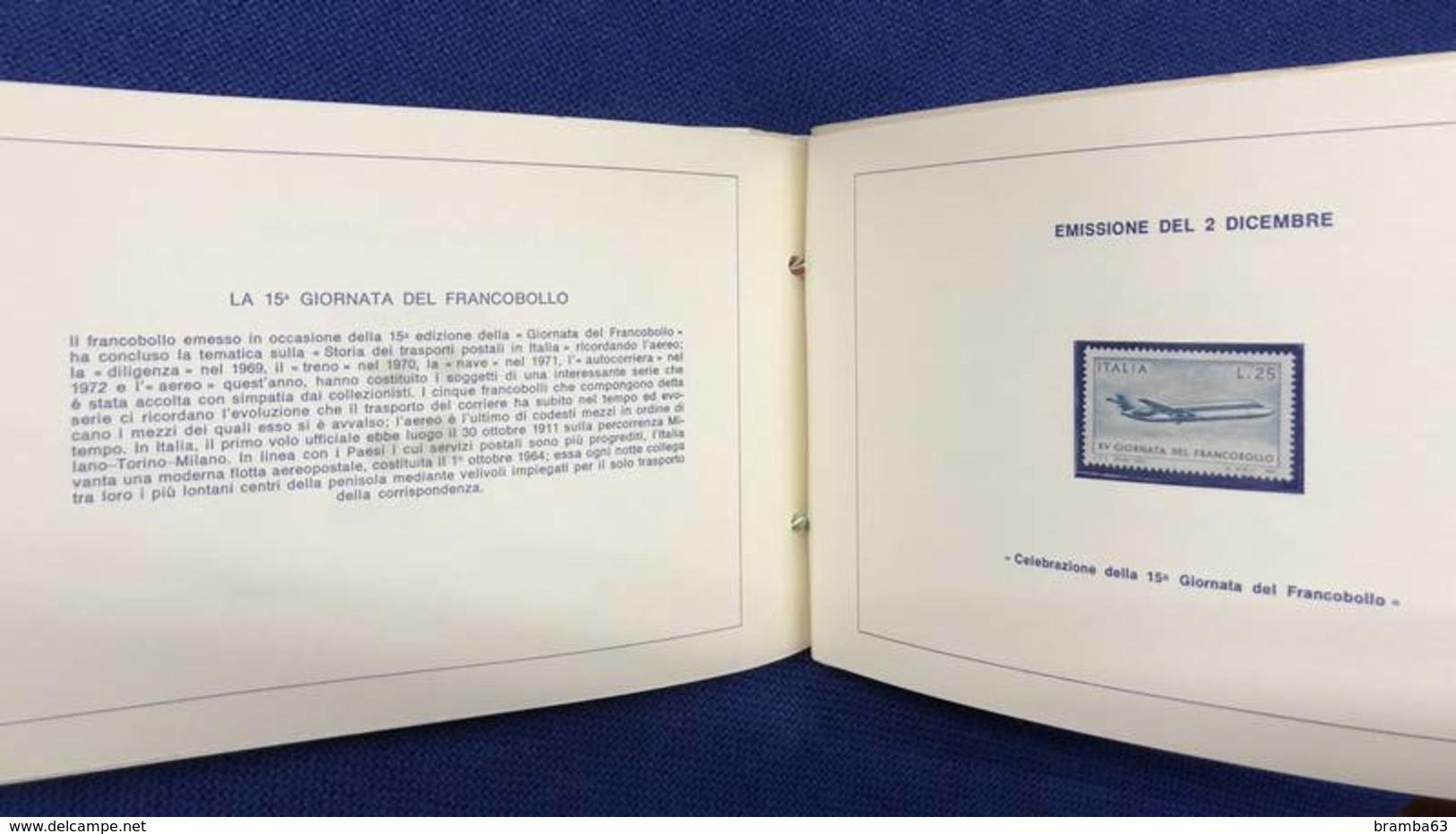 1973 Libretto Francobolli Emessi Amministrazione Postale Italiana - Completo Nuovo (come Da Scansione) - Années Complètes