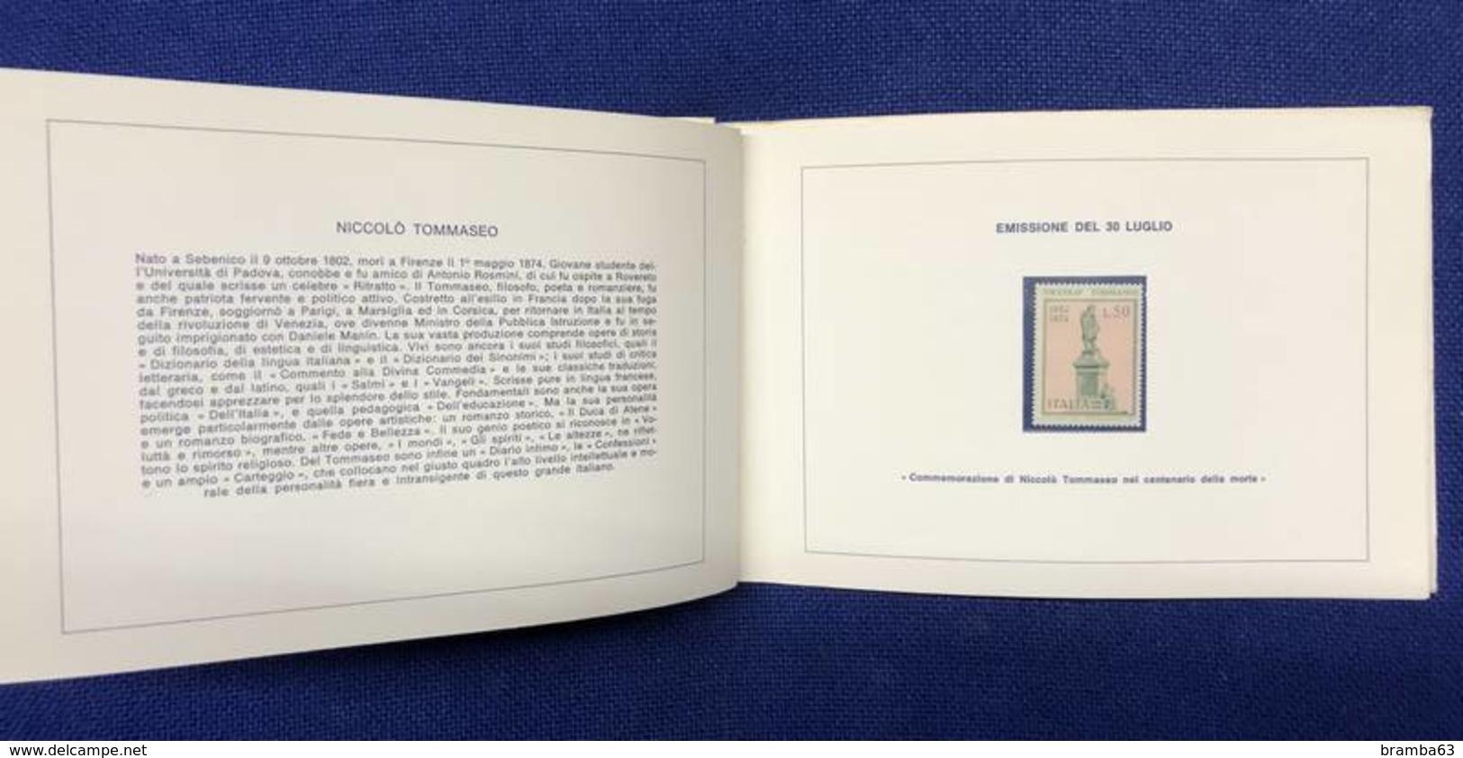 1974 Libretto Francobolli Emessi Amministrazione Postale Italiana - Completo Nuovo (come Da Scansione) - Années Complètes